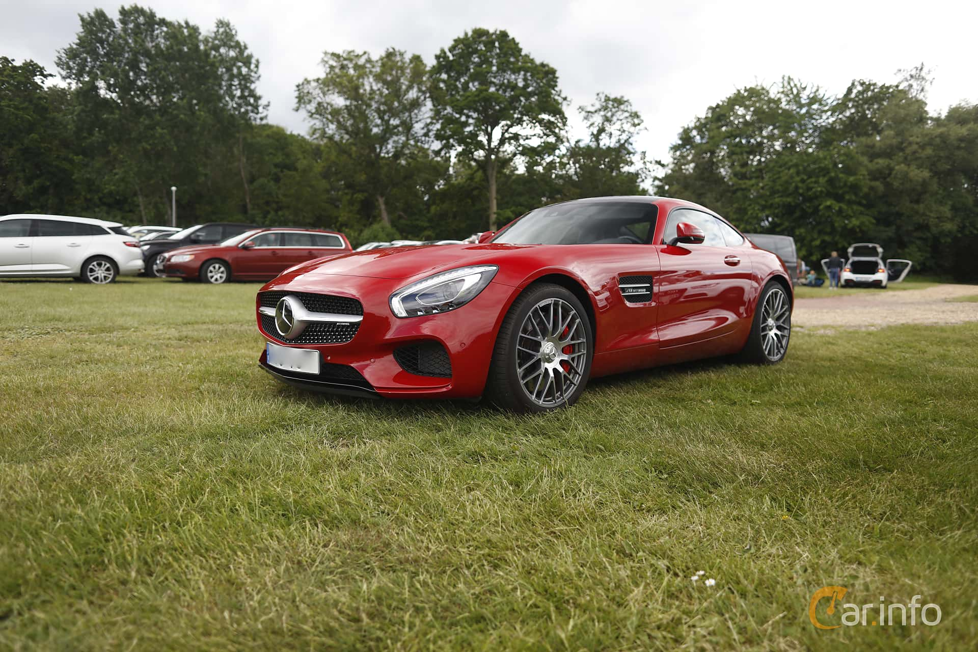 Mercedes-Benz AMG GT S  AMG Speedshift DCT, 510hp, 2016 at Sofiero Classic 2019