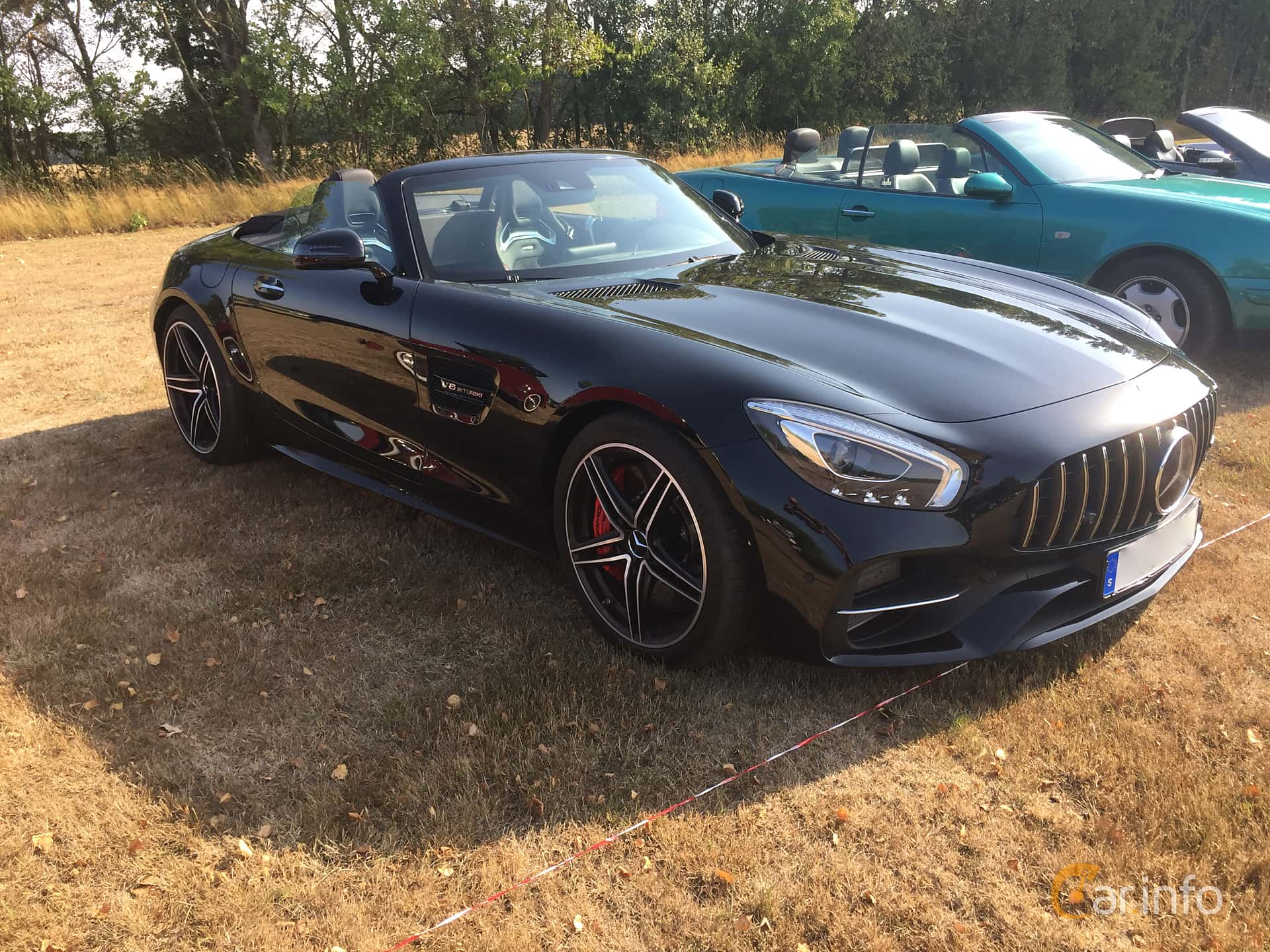 Mercedes-Benz AMG GT C Roadster  AMG Speedshift DCT, 557hp, 2017 at Eddys bilträff Augusti 2018