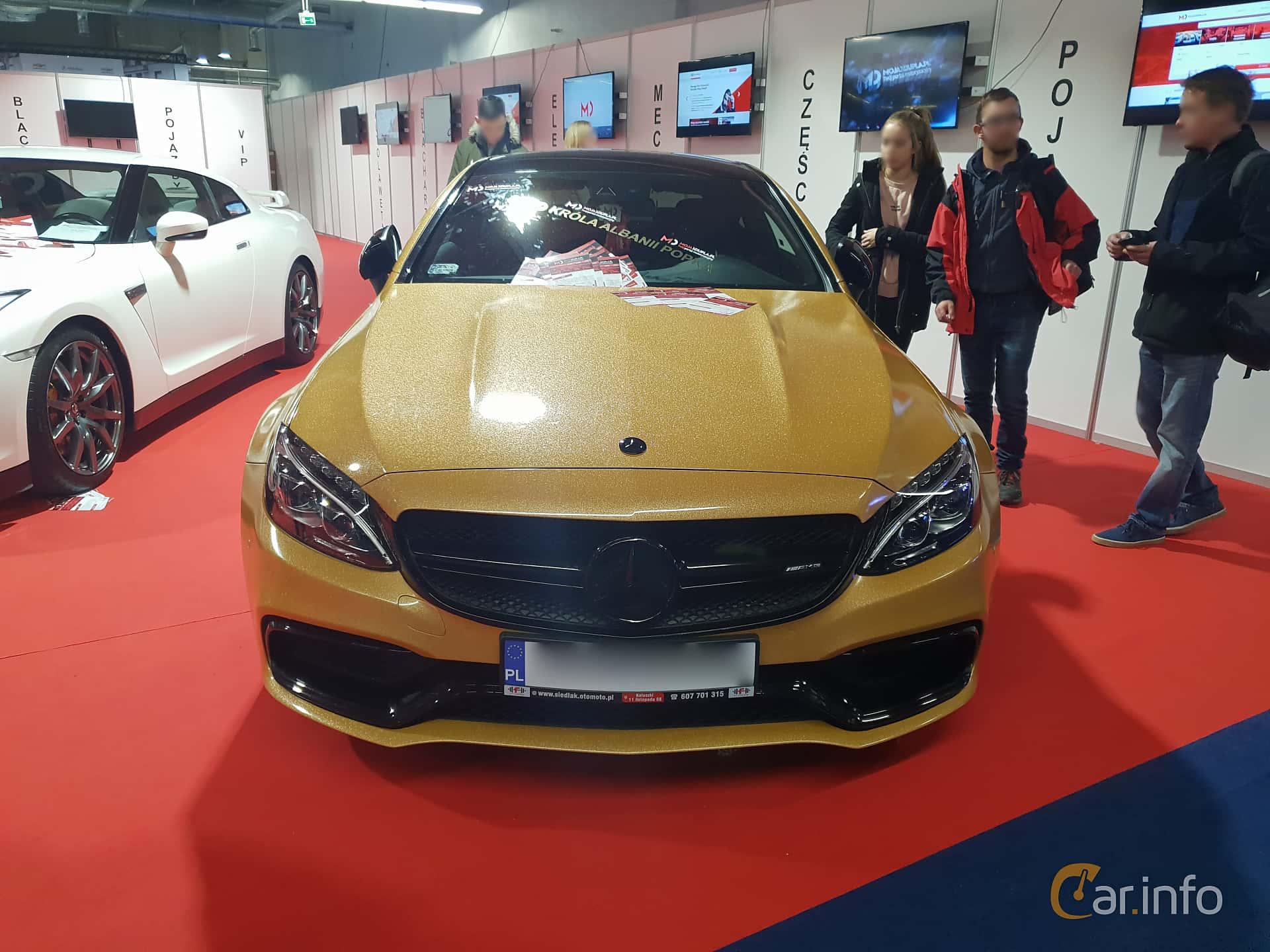 Mercedes-Benz C-Klass Coupé 2015 at Warsawa Motorshow 2018