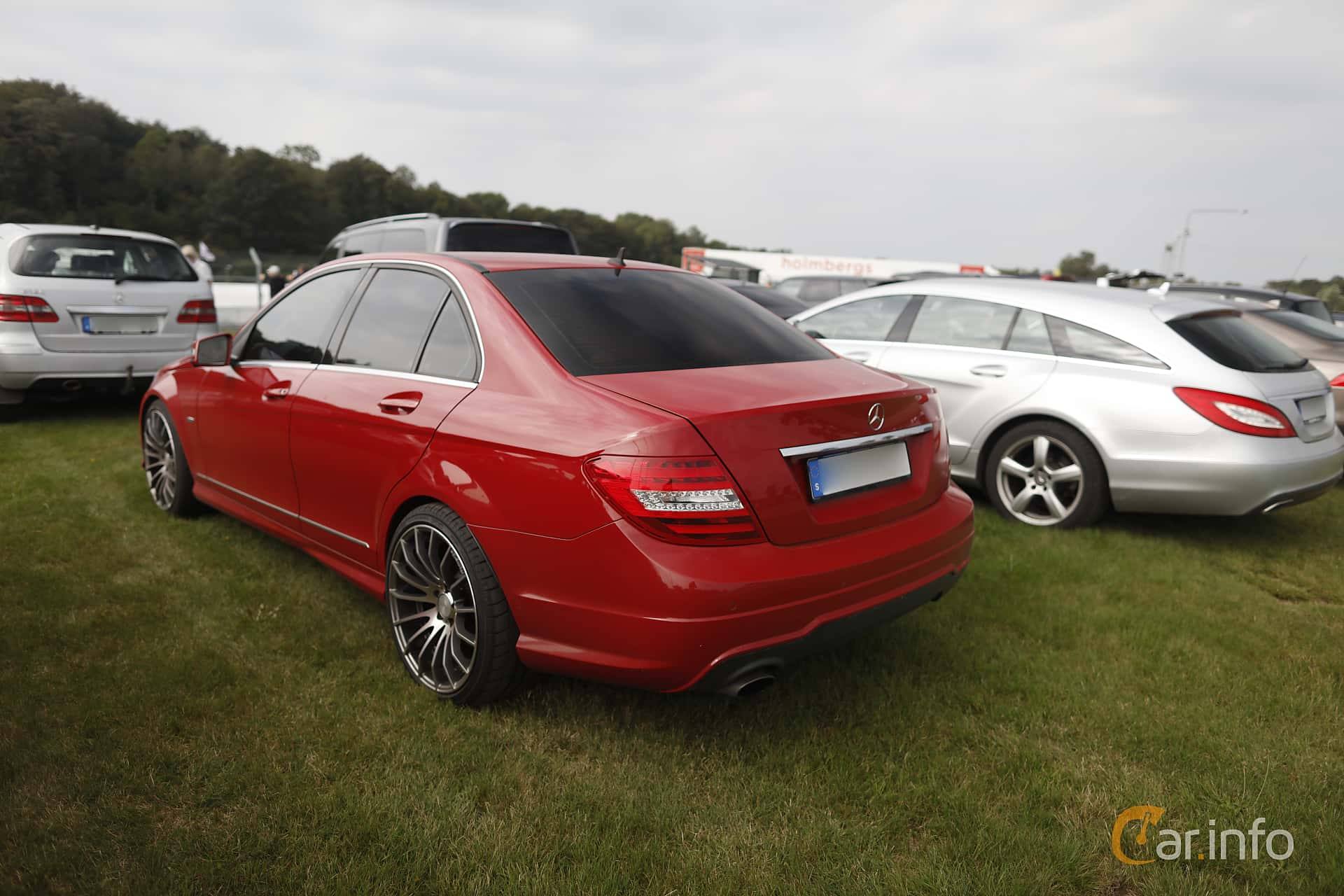 Mercedes-Benz C 180 BlueEFFICIENCY  7G-Tronic Plus, 156hp, 2012 at Autoropa Racing day Knutstorp 2019