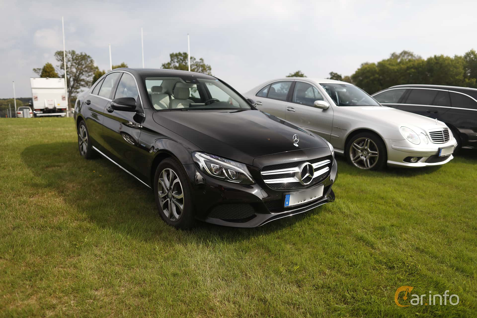 Front/Side  of Mercedes-Benz C 350 e  7G-Tronic Plus, 279ps, 2017 at Autoropa Racing day Knutstorp 2019
