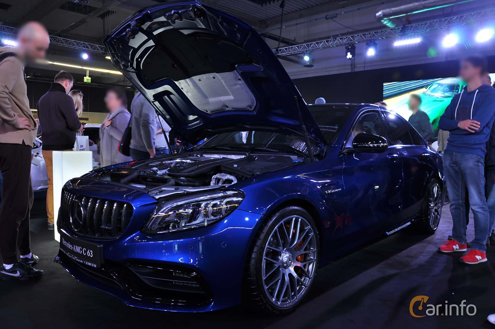 Mercedes-Benz AMG C 63  , 476hp, 2018 at Warsawa Motorshow 2018