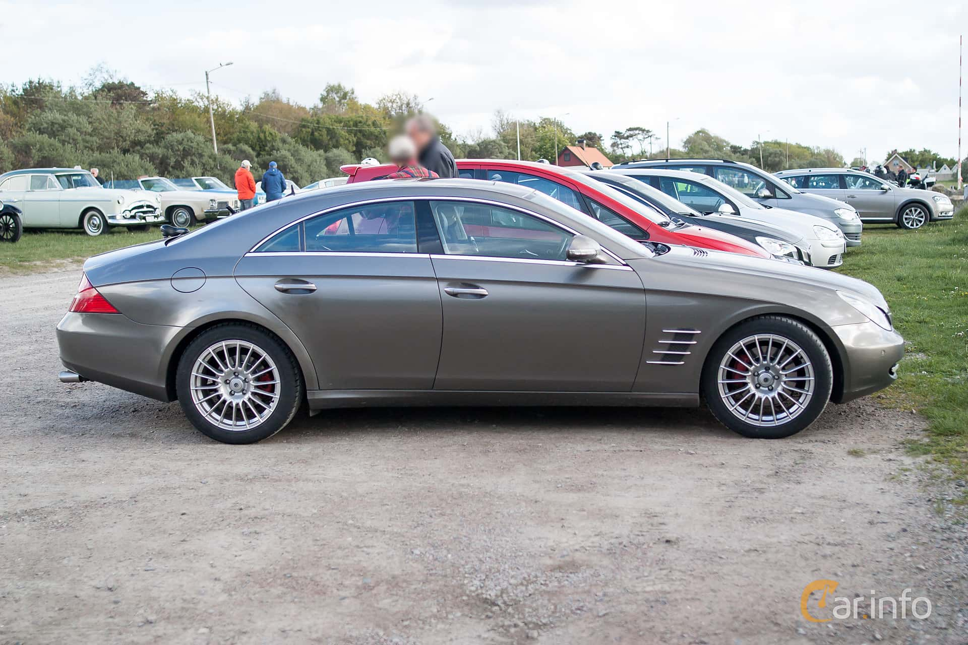 5 Images Of Mercedes Benz Cls 500 7g Tronic 306hp 2006 By Side 306ps