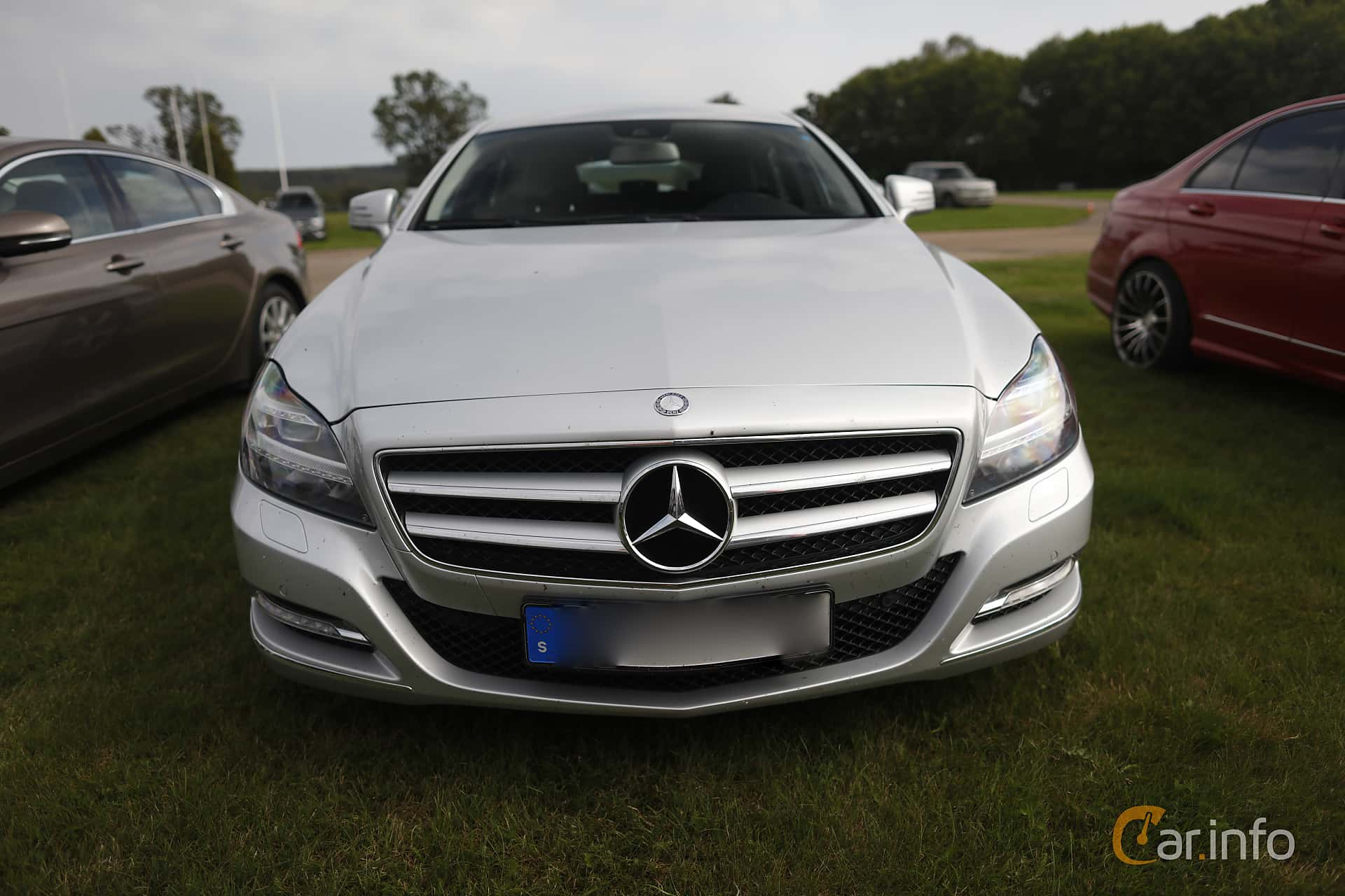 Mercedes-Benz CLS 250 CDI Shooting Brake  7G-Tronic Plus, 204hp, 2013 at Autoropa Racing day Knutstorp 2019