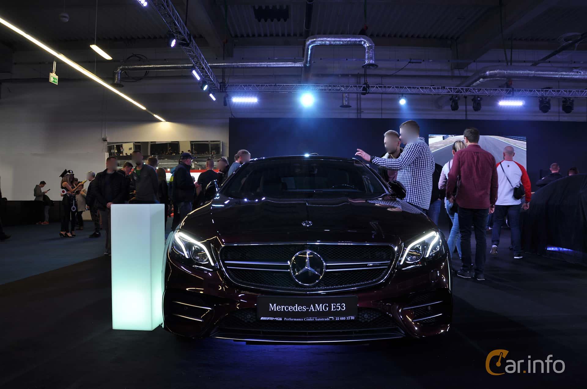 Mercedes-Benz AMG E 53 4MATIC+ Coupé  , 435hp, 2019 at Warsawa Motorshow 2018