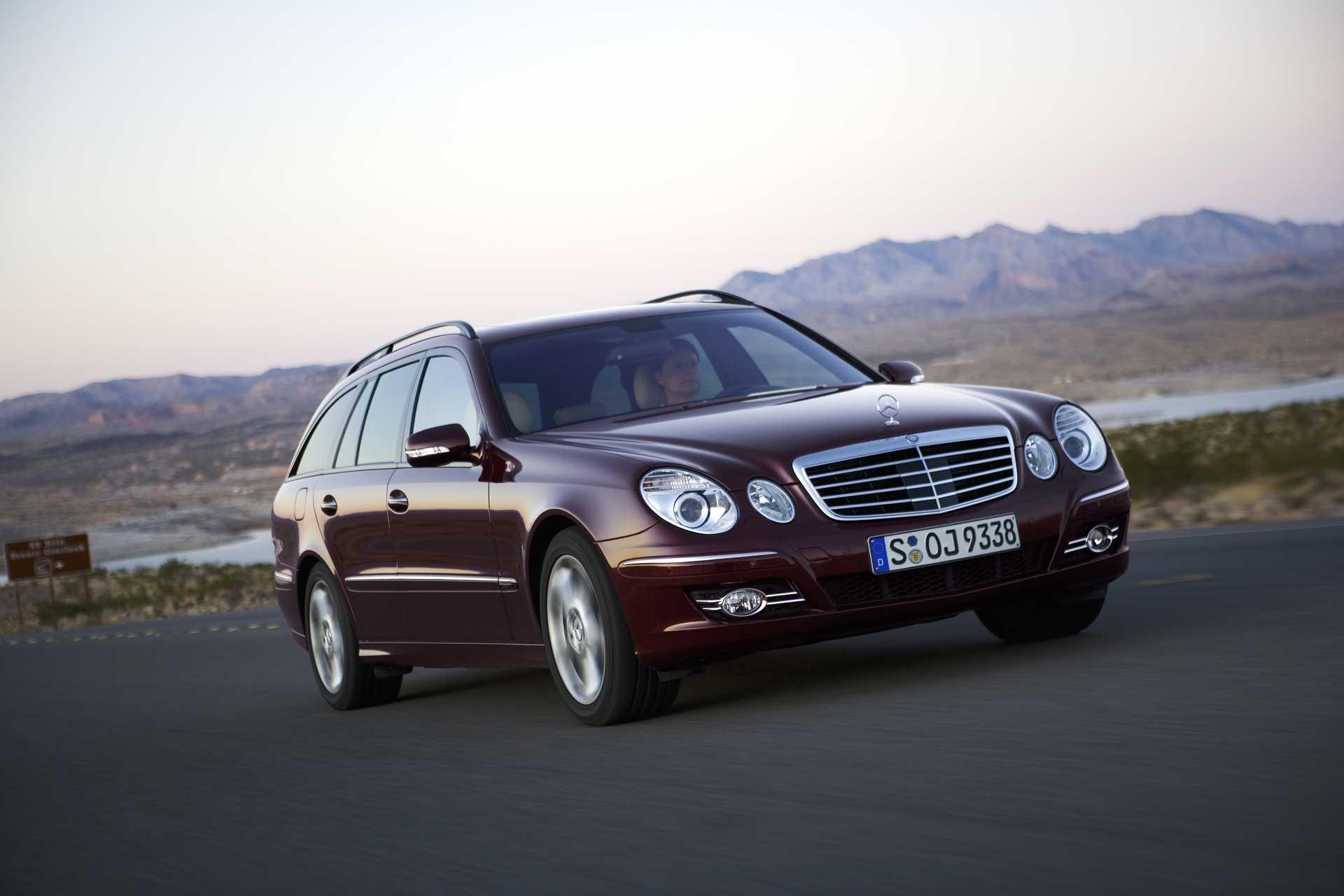 Mercedes-Benz E-Class W211 Facelift