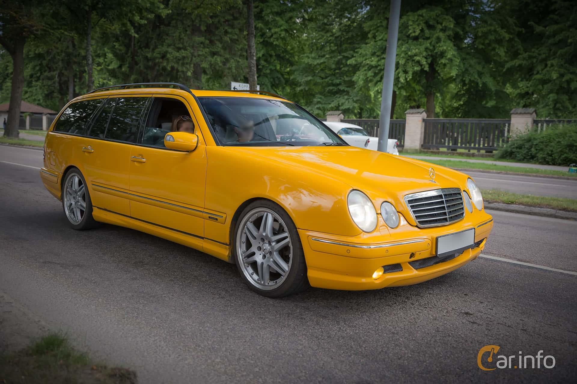 Mercedes benz e class w210 facelift for Biggest mercedes benz