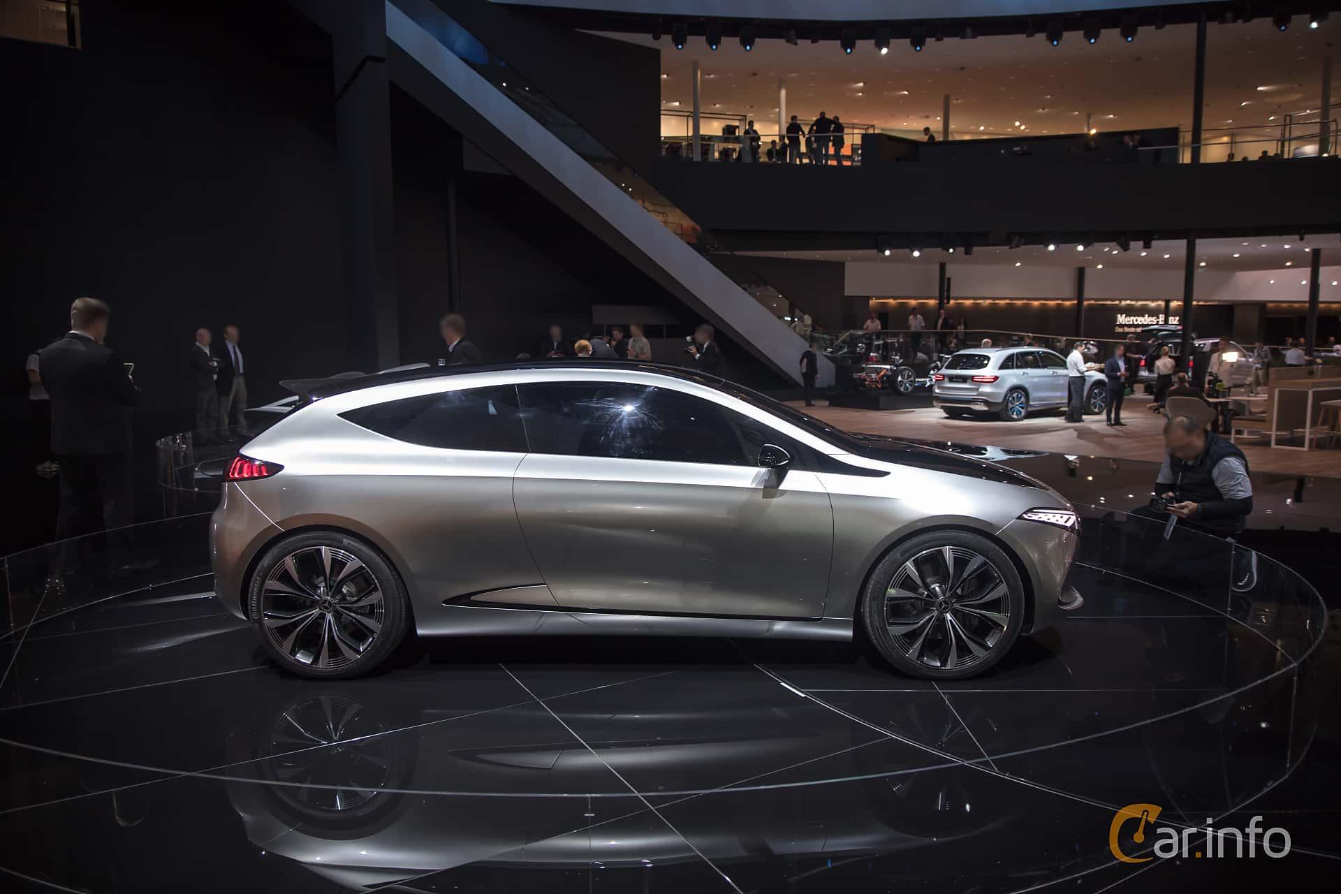 Side  of Mercedes-Benz EQA Concept Concept, 2017 at IAA 2017