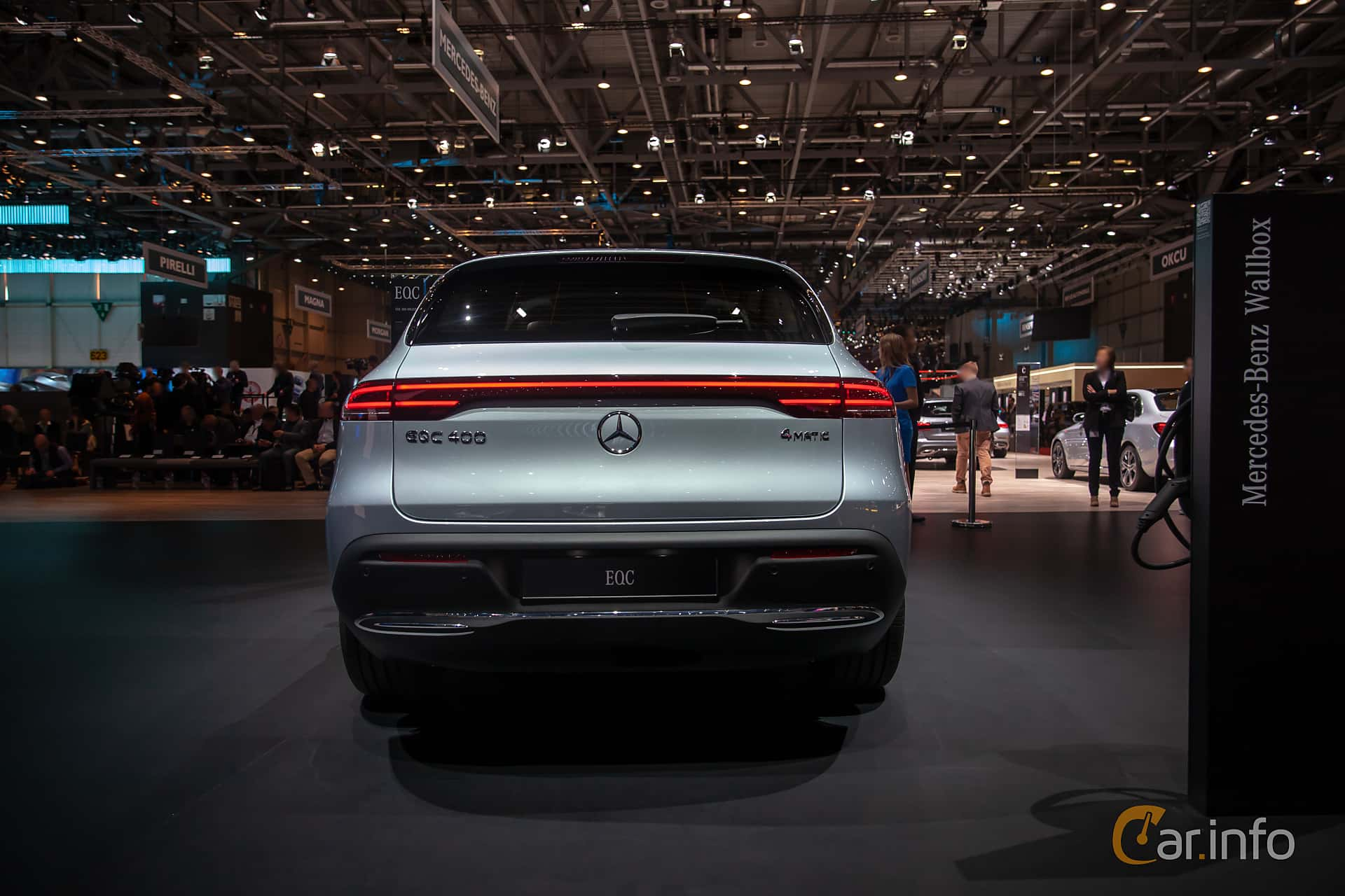 Bak av Mercedes-Benz EQC 400  Single Speed, 408ps, 2019 på Geneva Motor Show 2019