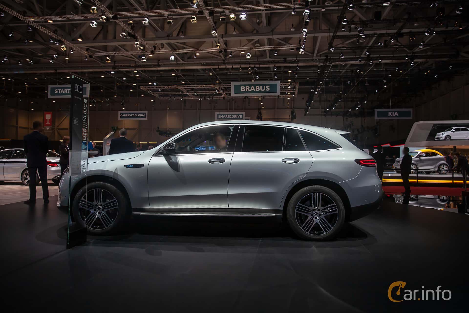 Mercedes-Benz EQC 400  Single Speed, 408hp, 2019 at Geneva Motor Show 2019