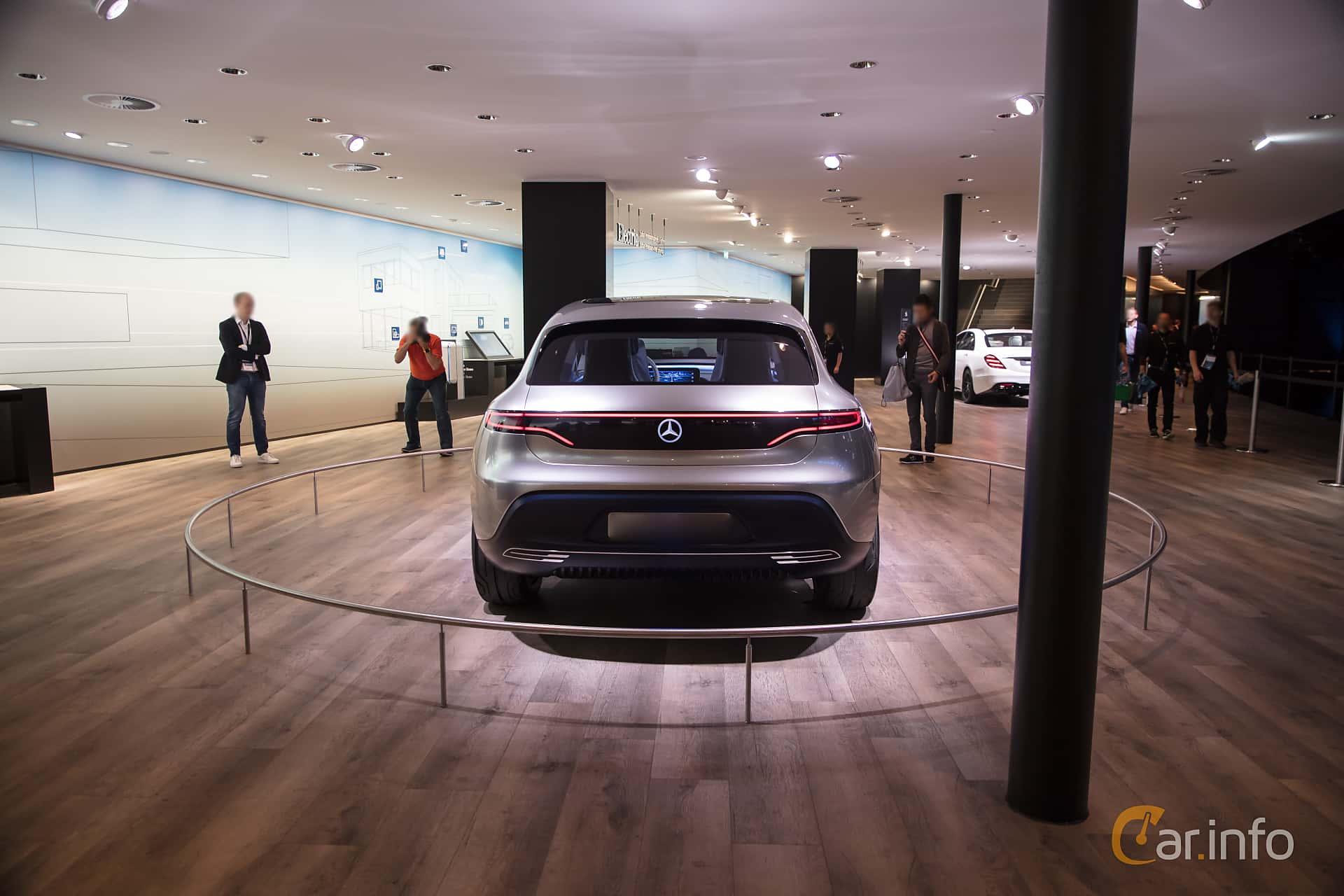Mercedes-Benz Generation EQ 70 kWh Single Speed, 408hp, 2016 at IAA 2017