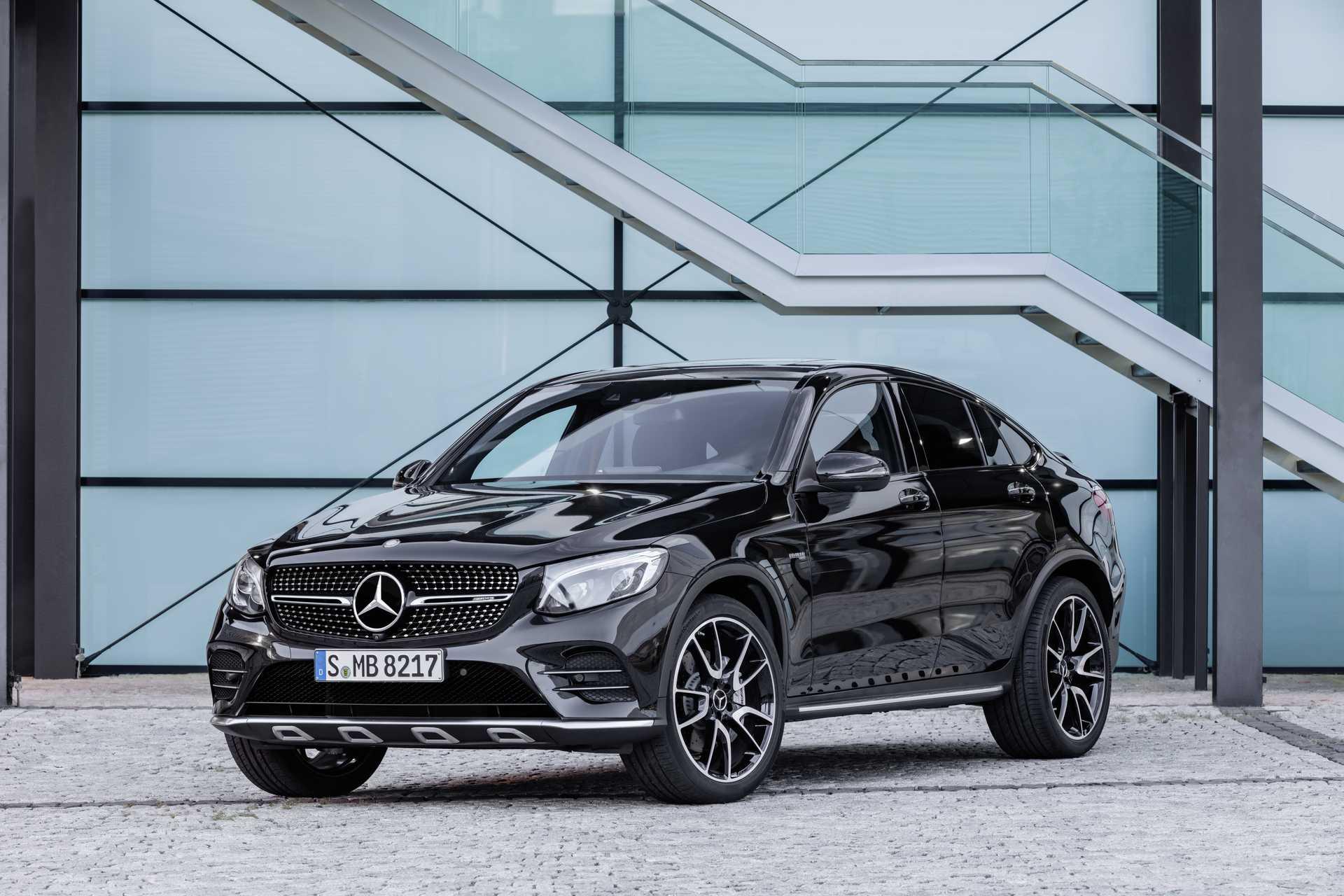 Mercedes-Benz AMG GLC 43 Coupé 4MATIC 9G-Tronic, 367hp, 2017