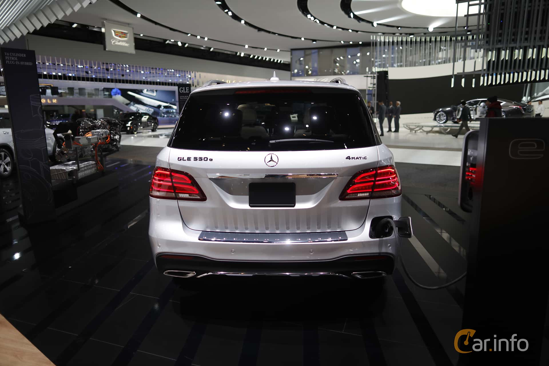 Mercedes-Benz GLE 500 e 4MATIC 3.0 V6 4MATIC 7G-Tronic Plus, 442hp, 2017 at North American International Auto Show 2017