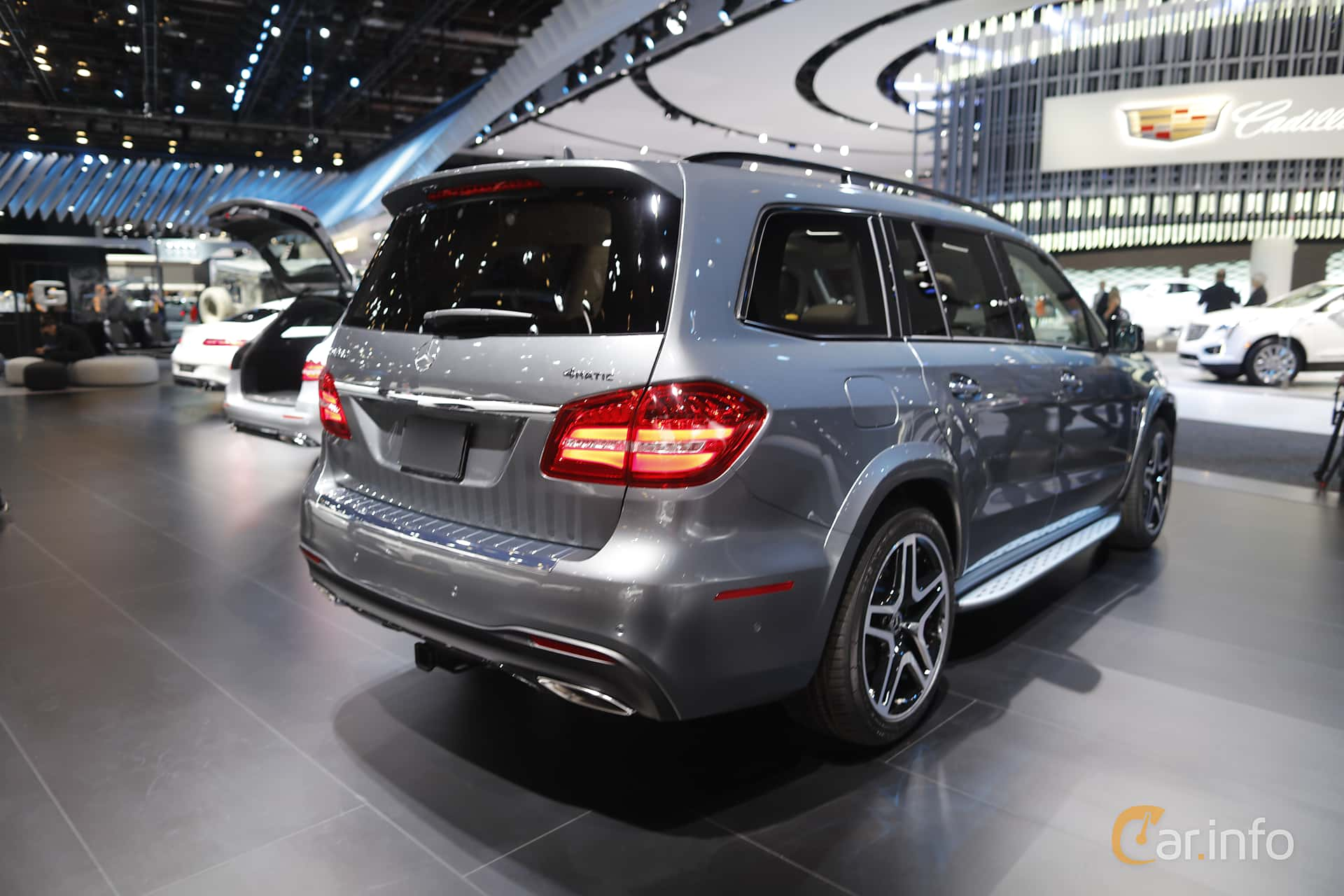 Mercedes-Benz GLS 500 4MATIC  9G-Tronic, 455hp, 2018 at North American International Auto Show 2018