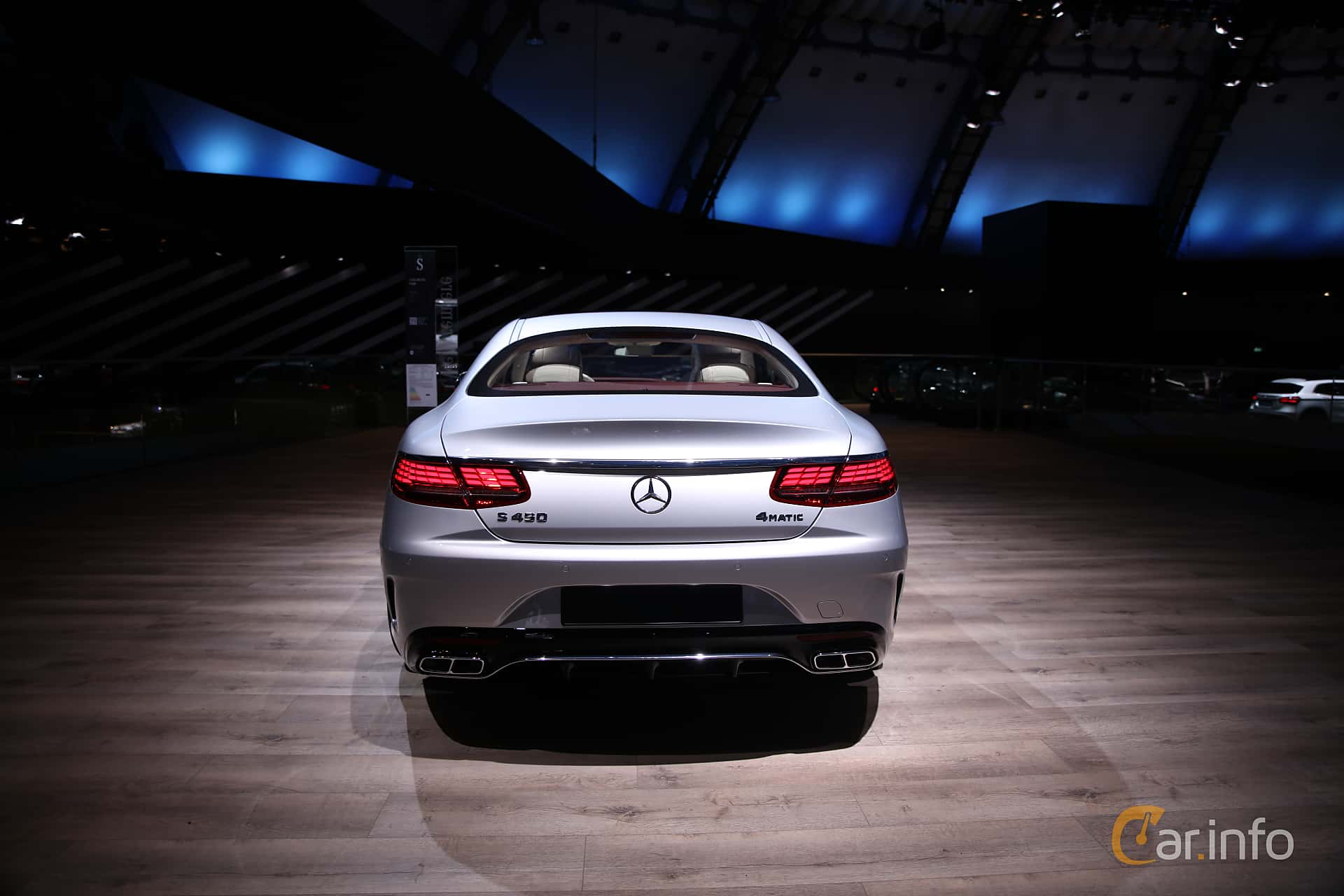 Mercedes-Benz S 450 4MATIC Coupé  9G-Tronic, 367hp, 2018 at IAA 2017