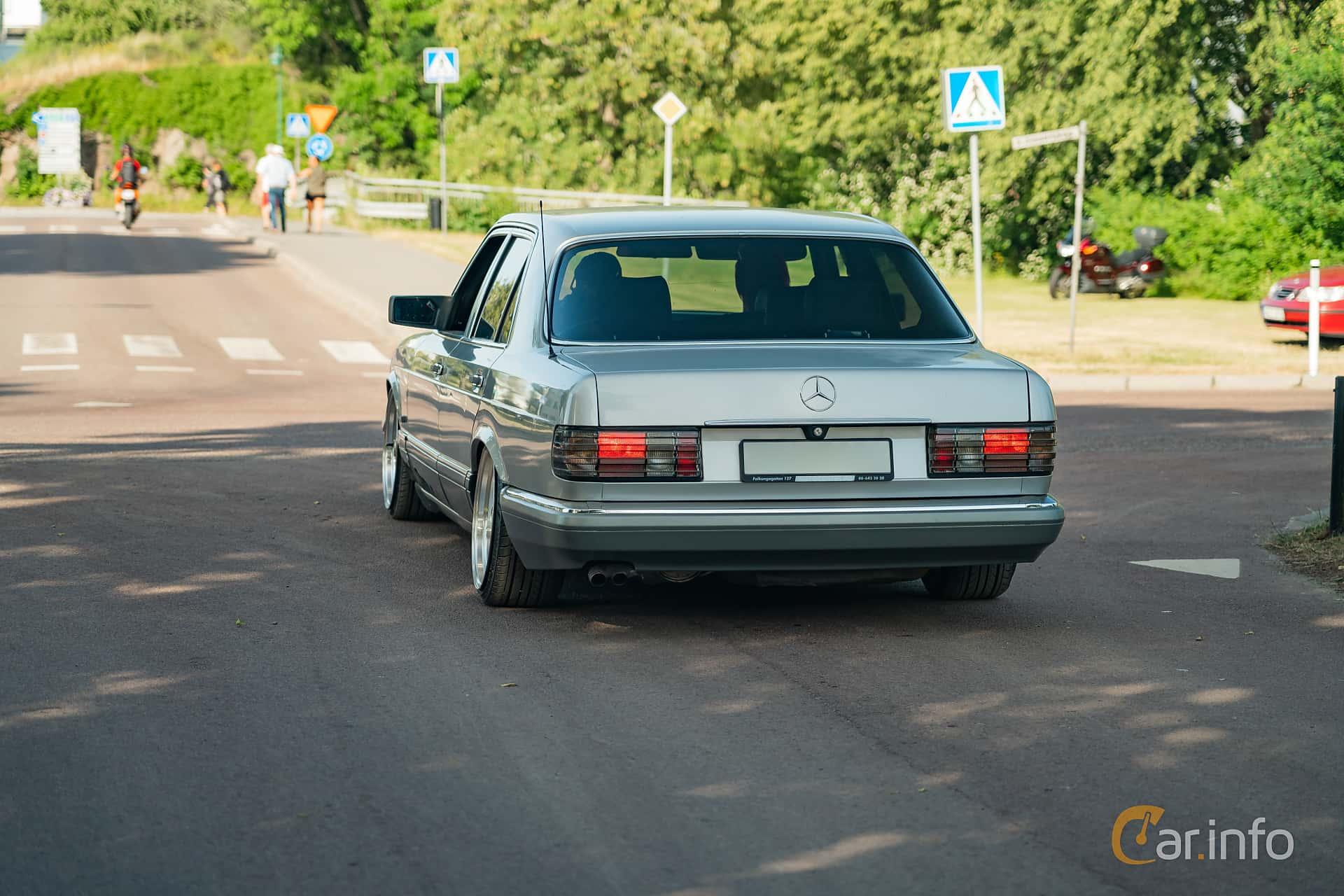 Mercedes-Benz 420 SE  Automatisk, 224hk, 1990 at Ronneby Nostalgia Festival 2019