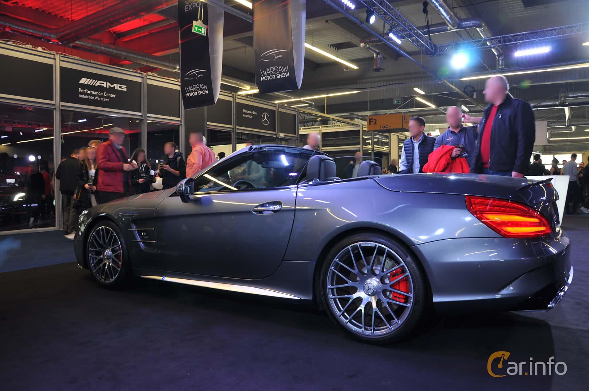 Mercedes-Benz SL 63 AMG  , 585hp, 2018 at Warsawa Motorshow 2018