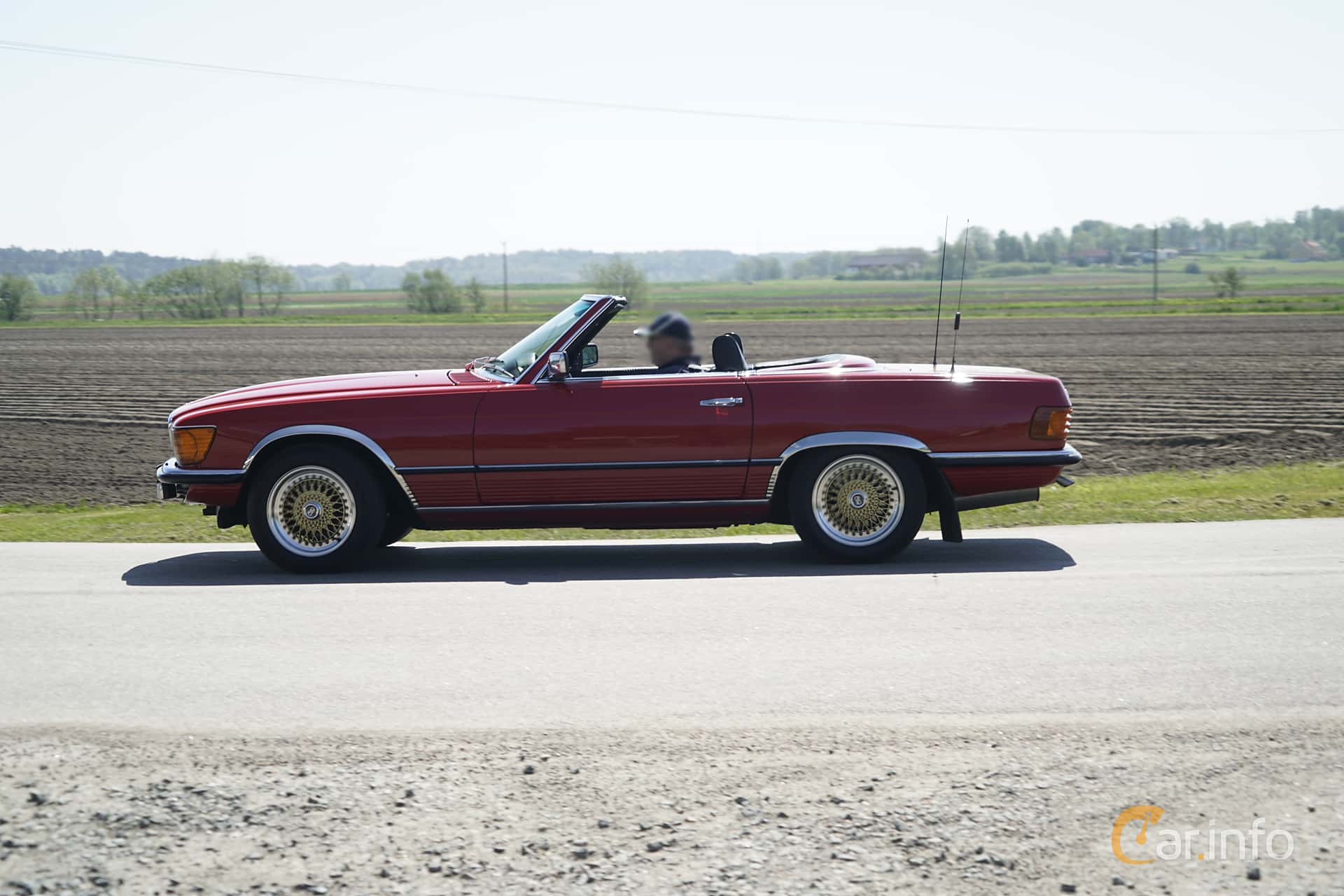 3 Images Of Mercedes Benz 450 Sl Automatic 225hp 1978 By