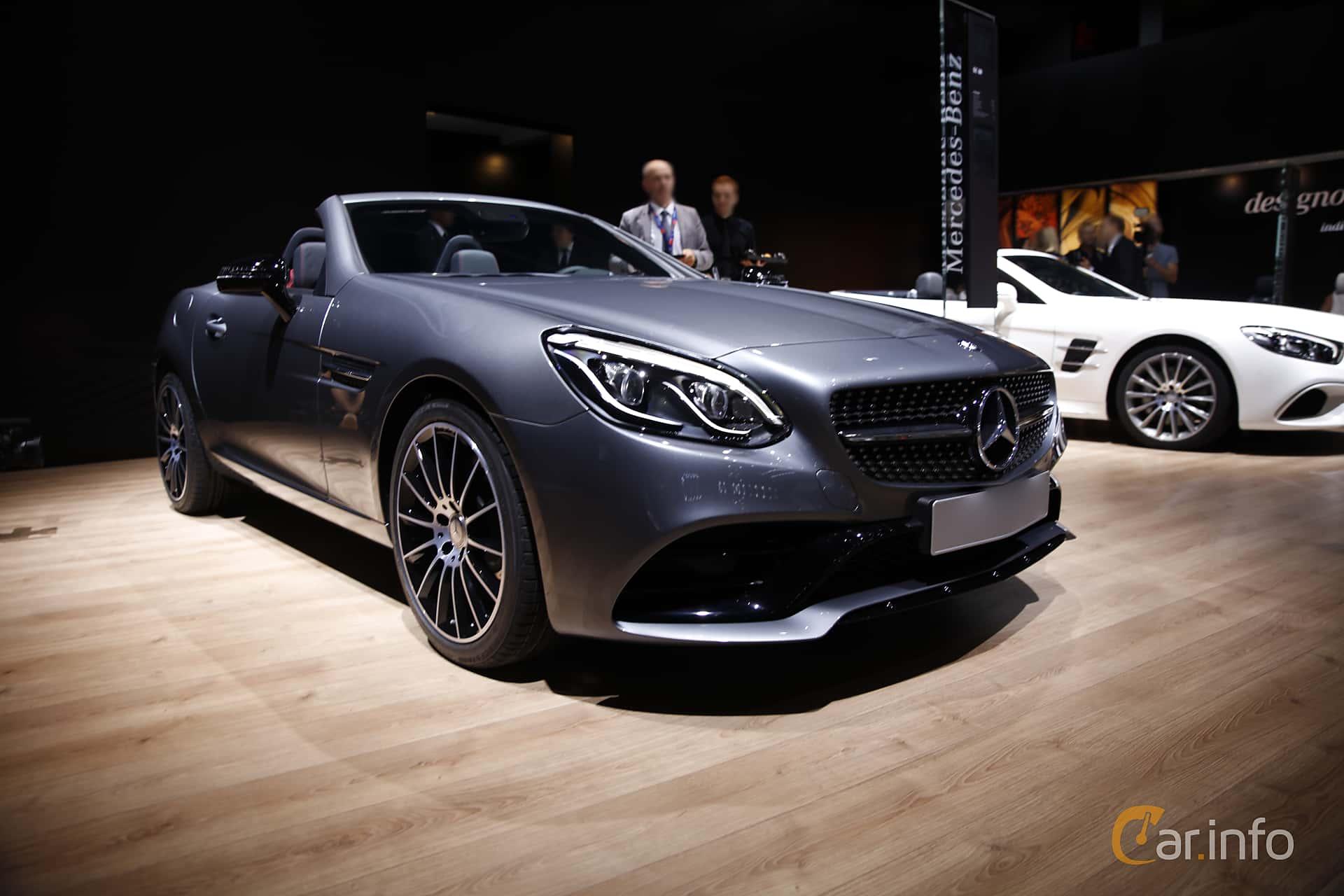 Mercedes-Benz SLC 180 9G-Tronic, 156hp, 2017