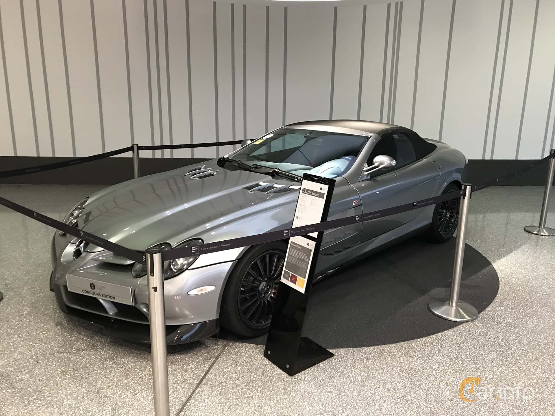 Mercedes-Benz SLR 722 S Roadster  Automatic, 650hp, 2009