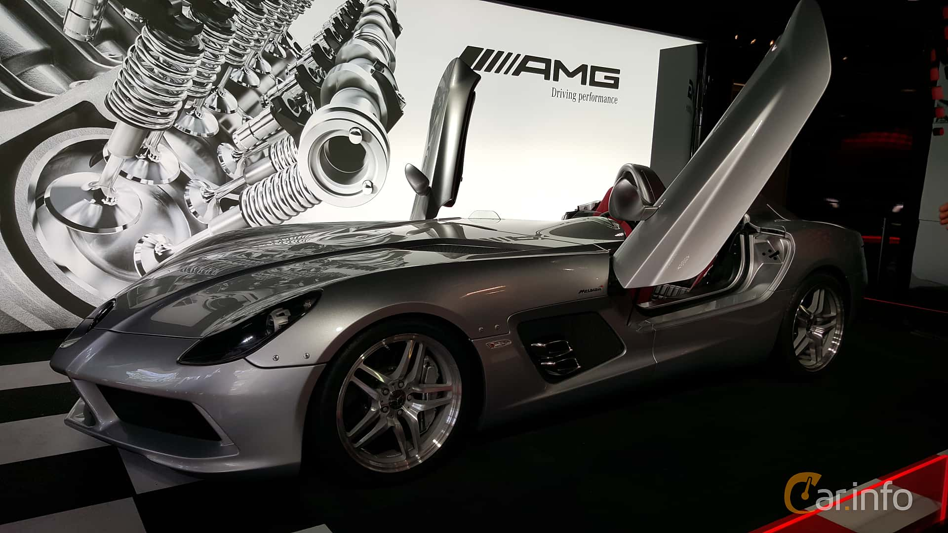 mercedes-benz slr stirling moss 199