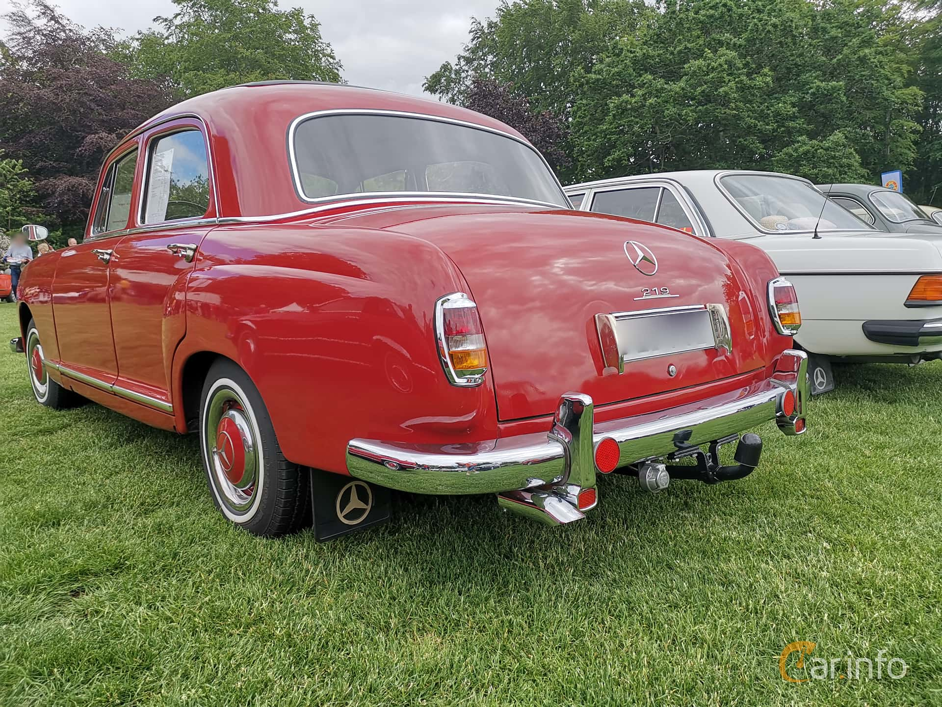 Mercedes-Benz 219  Manual, 86hp, 1957 at Sofiero Classic 2019