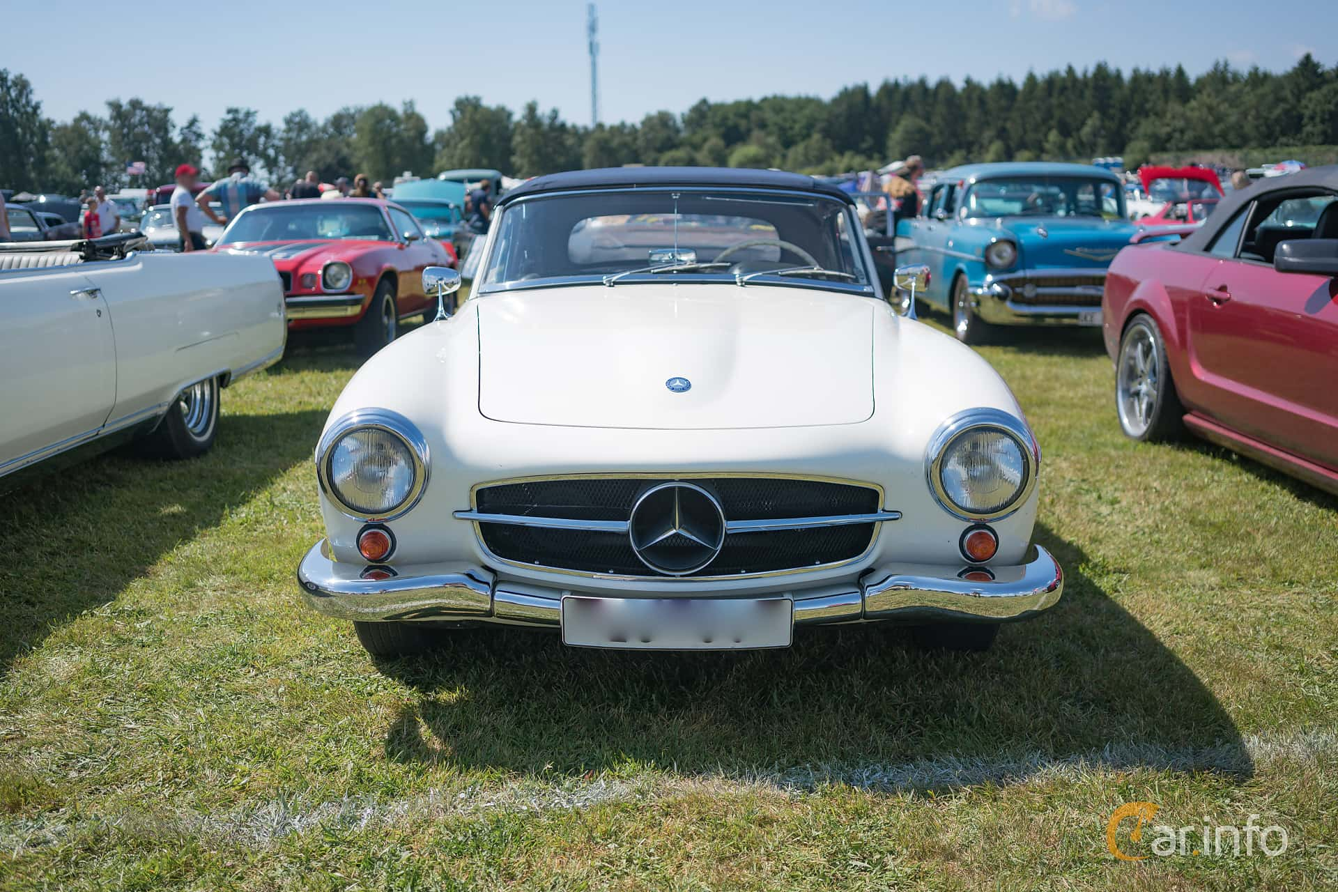 Mercedes-Benz 190 SL Roadster  Manual, 105hp, 1958 at Wheels & Wings 2017