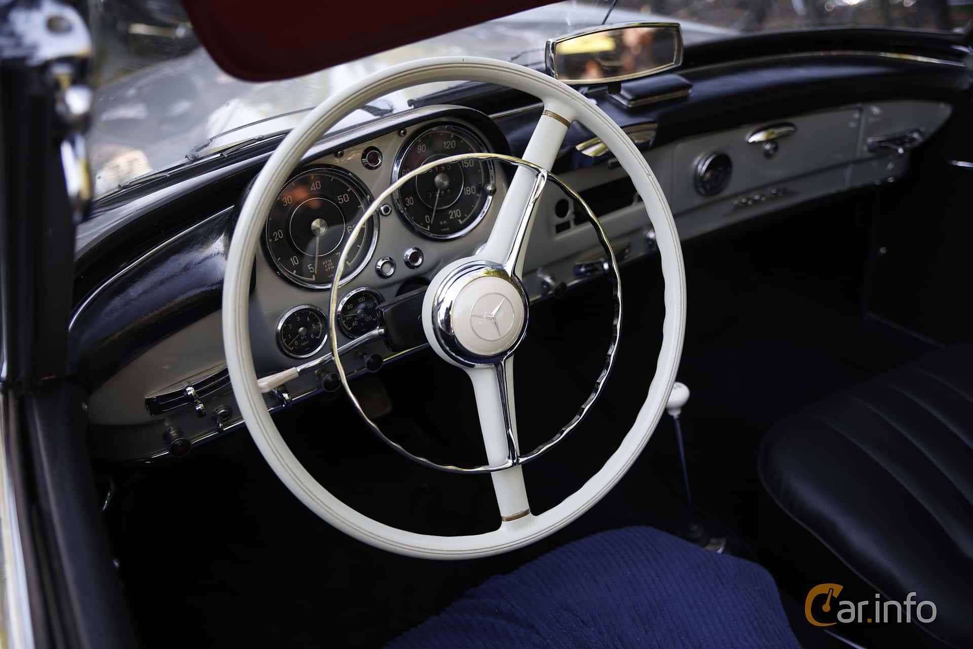 Mercedes-Benz 190 SL Roadster  Manual, 105hp, 1958 at Billesholms Veteranbilsträff Maj / 2016