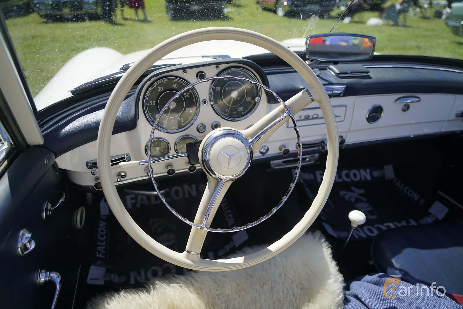 Mercedes-Benz 190 SL Roadster  Manual, 105hp, 1958 at Hässleholm Power Start of Summer Meet 2017