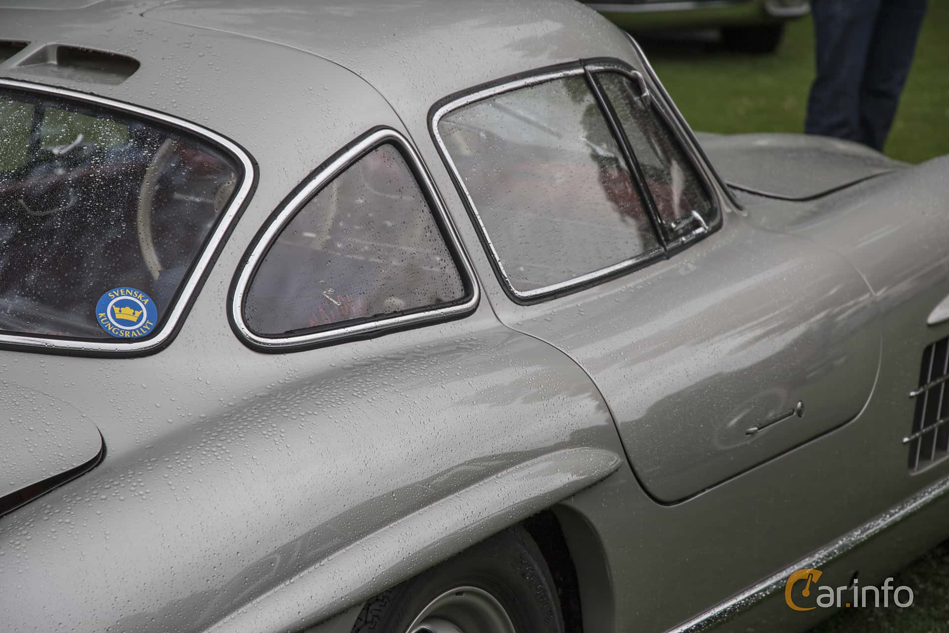 Mercedes-Benz 300 SL  Manual, 215hp, 1955 at Ronneby Nostalgia Festival 2016