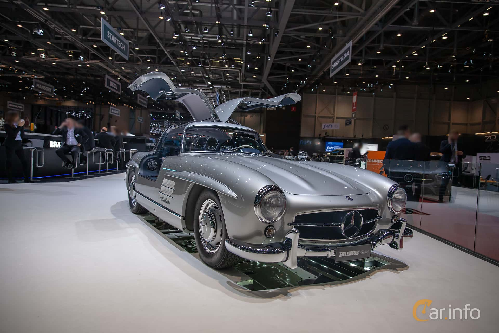 Mercedes-Benz 300 SL  Manual, 215hp, 1955 at Geneva Motor Show 2019
