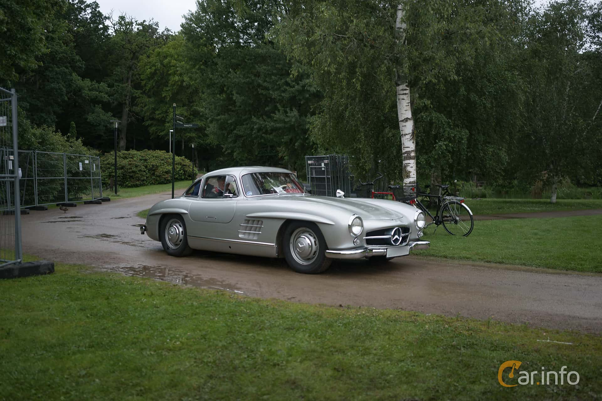 Mercedes-Benz 300 SL  Manual, 215hp, 1955 at Ronneby Nostalgia Festival 2017