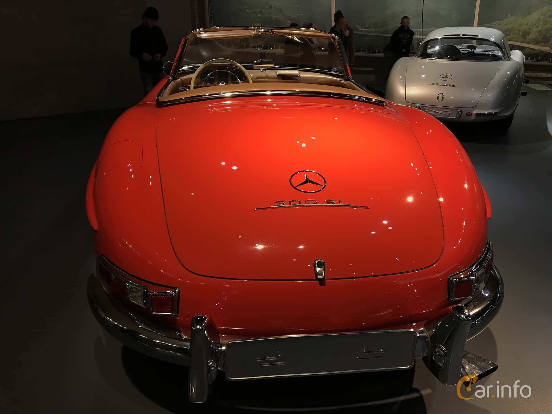Mercedes-Benz 300 SL Roadster  Manual, 225hp, 1962