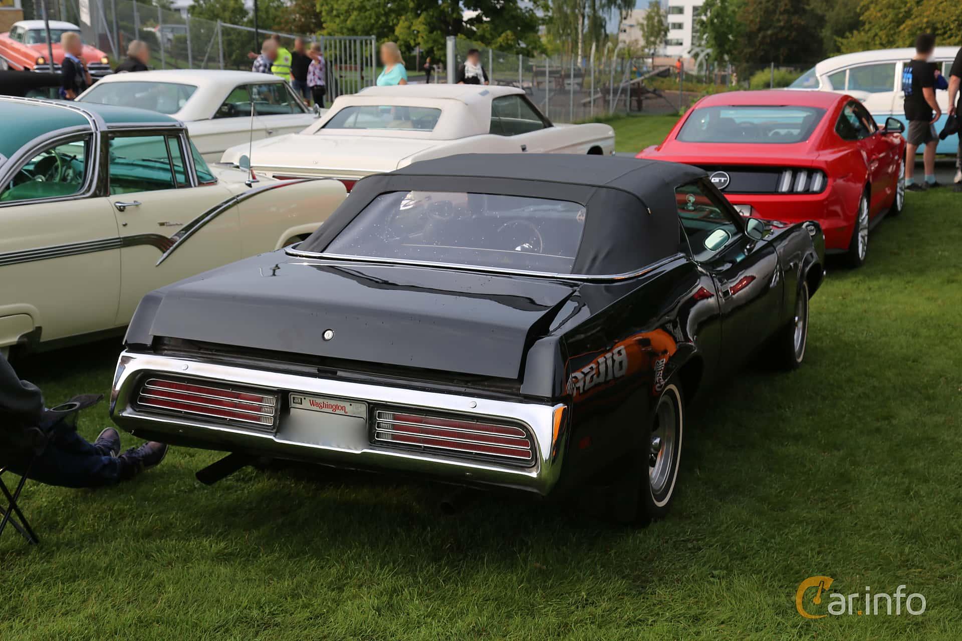 Mercury Cougar Convertible 5.8 V8 Automatic, 165hp, 1972 at Bil & MC-träffar i Huskvarna Folkets Park 2019 Amerikanska fordon