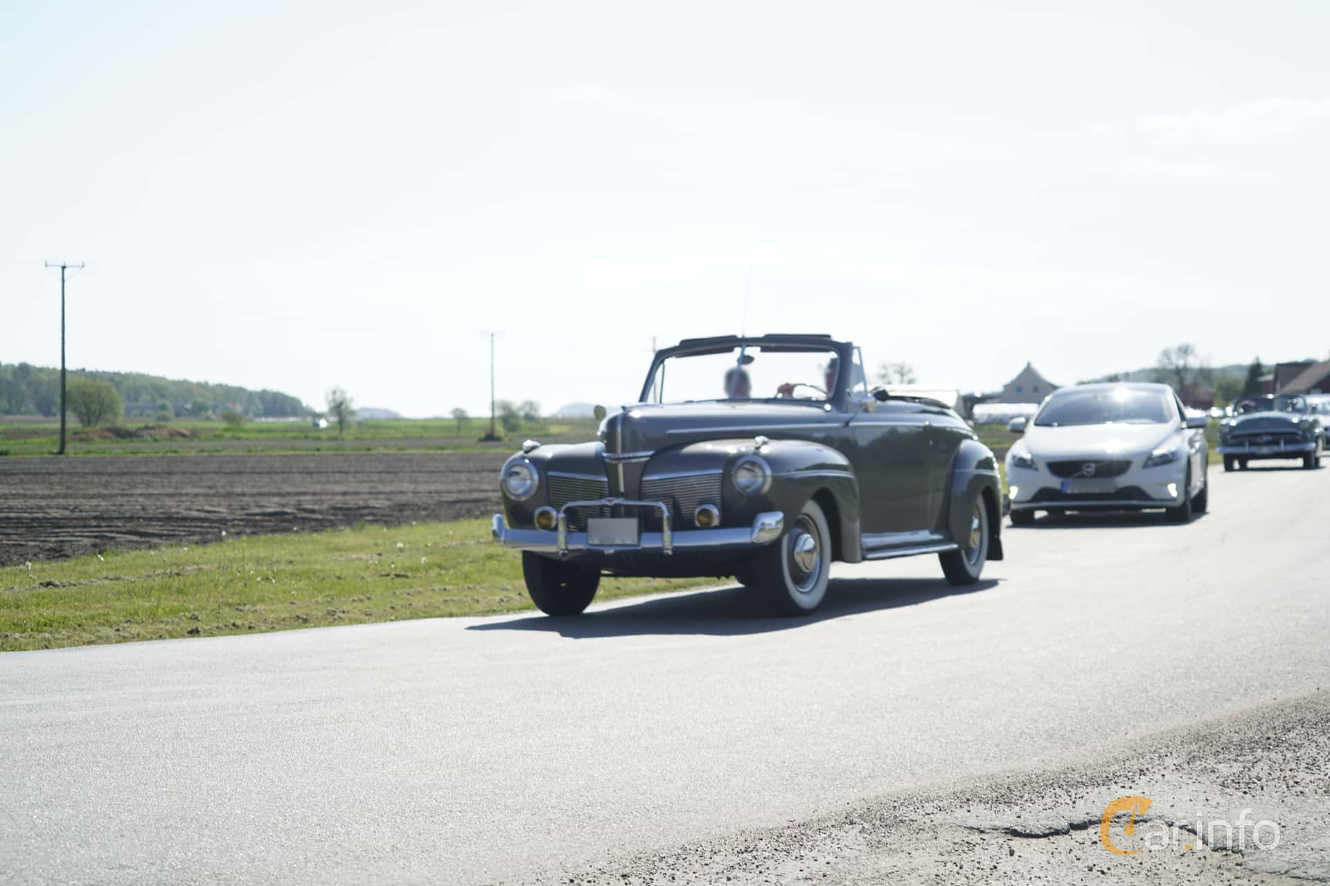 3 Images Of Mercury Eight Convertible 36 Manual 95hp 1941 By 4 Door Sedan Front Side 95ps At Tjolholm Classic
