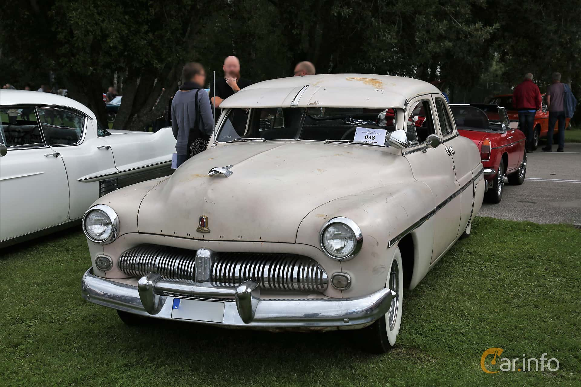 Mercury Eight 9CM Sedan 4.2 V8 Manual, 110hp, 1949 at Lödöse motornostalgiska dag 2019