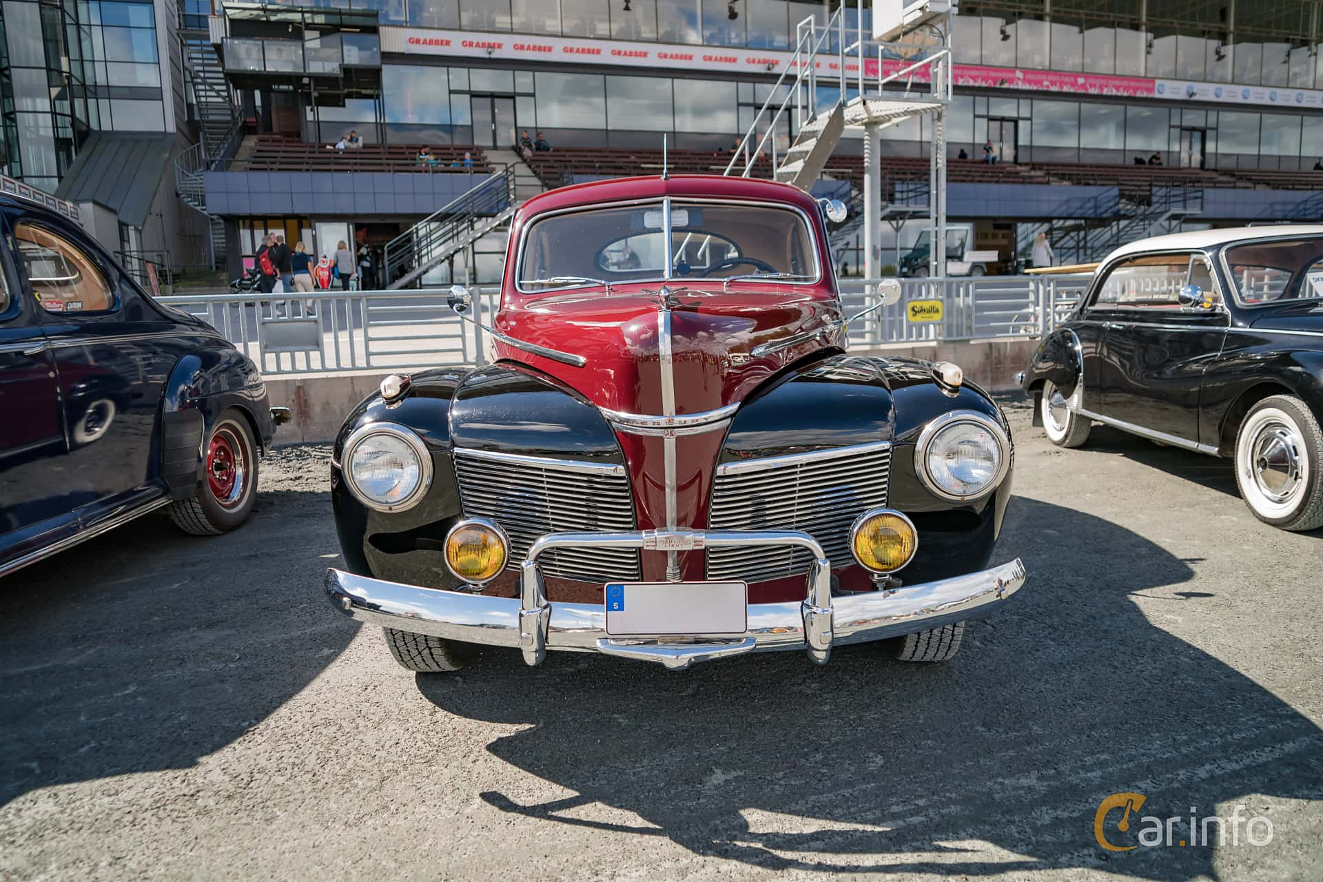 Tagen P Wheels Nationals Stockholm 2017 1941 Mercury Eight Coupe Front 2 428184