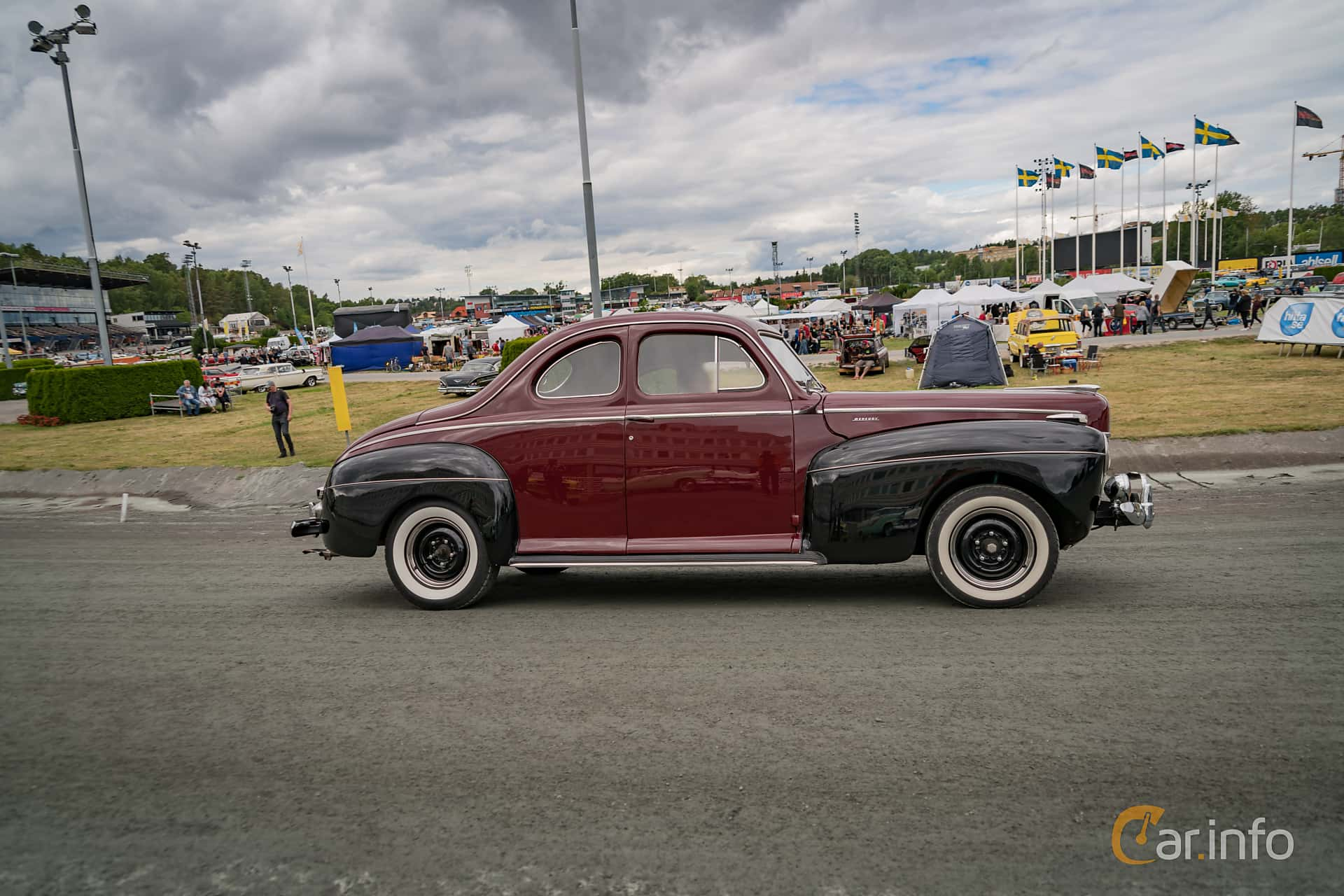 Tagen P Wheels Nationals Stockholm 2017 1941 Mercury Eight Coupe Marcusliedholm
