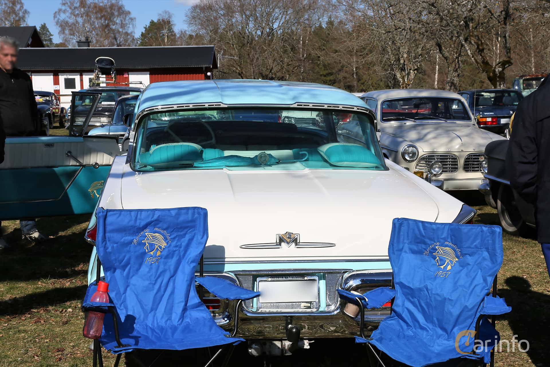 Mercury Montclair 2-door Hardtop 5.1 V8 Automatic, 258hp, 1957 at Uddevalla Veteranbilsmarknad Backamo, Ljungsk 2019
