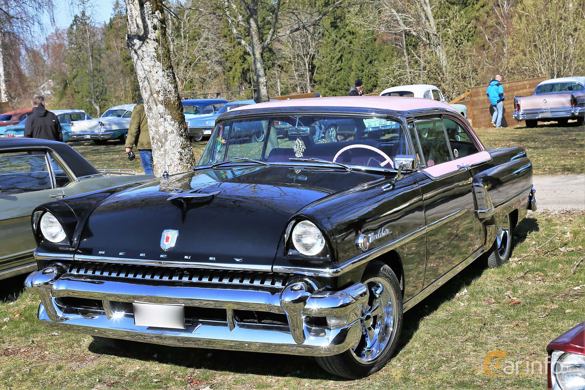 Mercury Montclair 2-door Hardtop 4.8 V8 Automatic, 198hp, 1955 at Uddevalla Veteranbilsmarknad Backamo, Ljungsk 2019