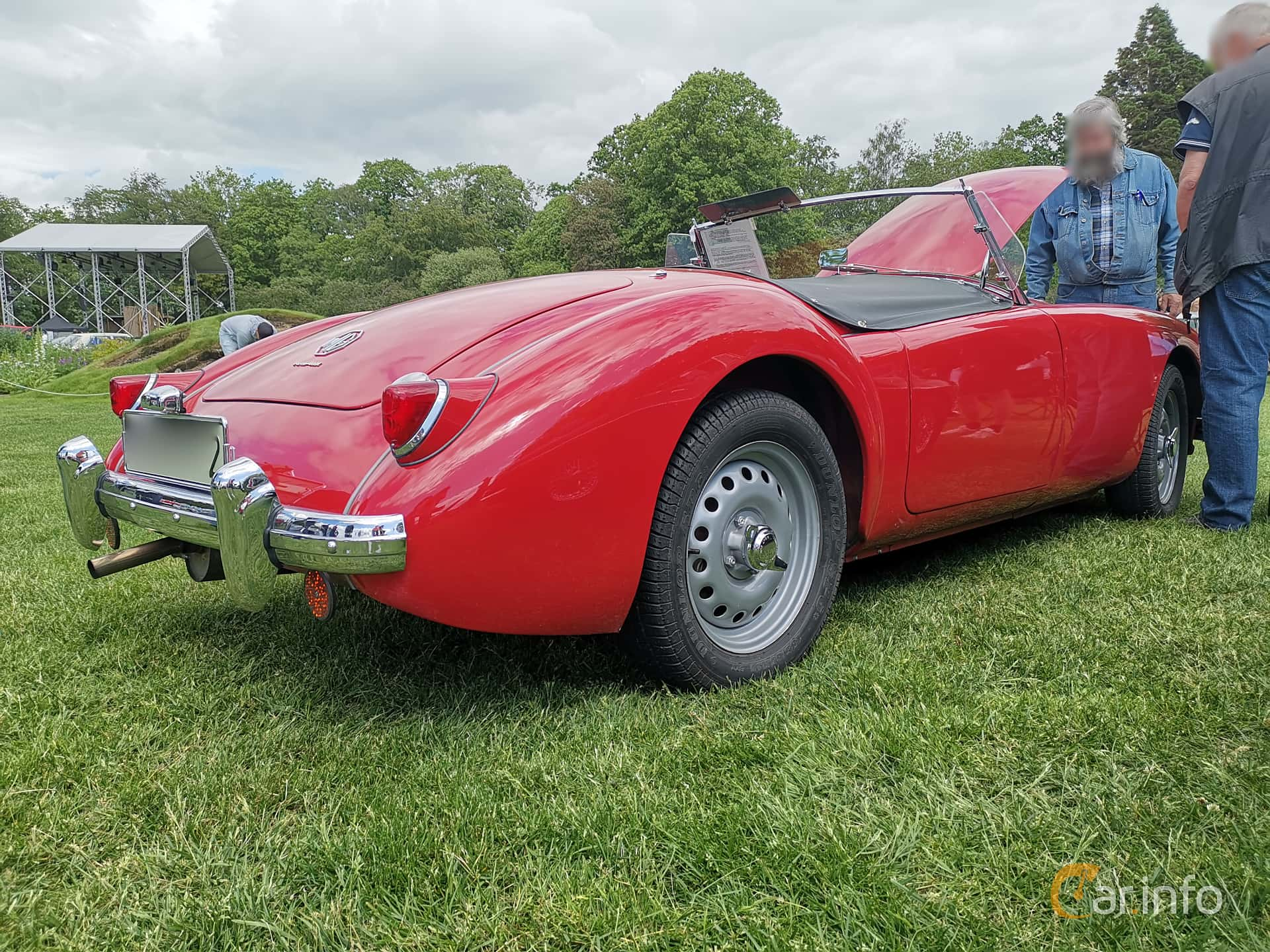 MG MGA Twin-Cam Coupé 1.6 Manual, 110hp, 1960 at Sofiero Classic 2019