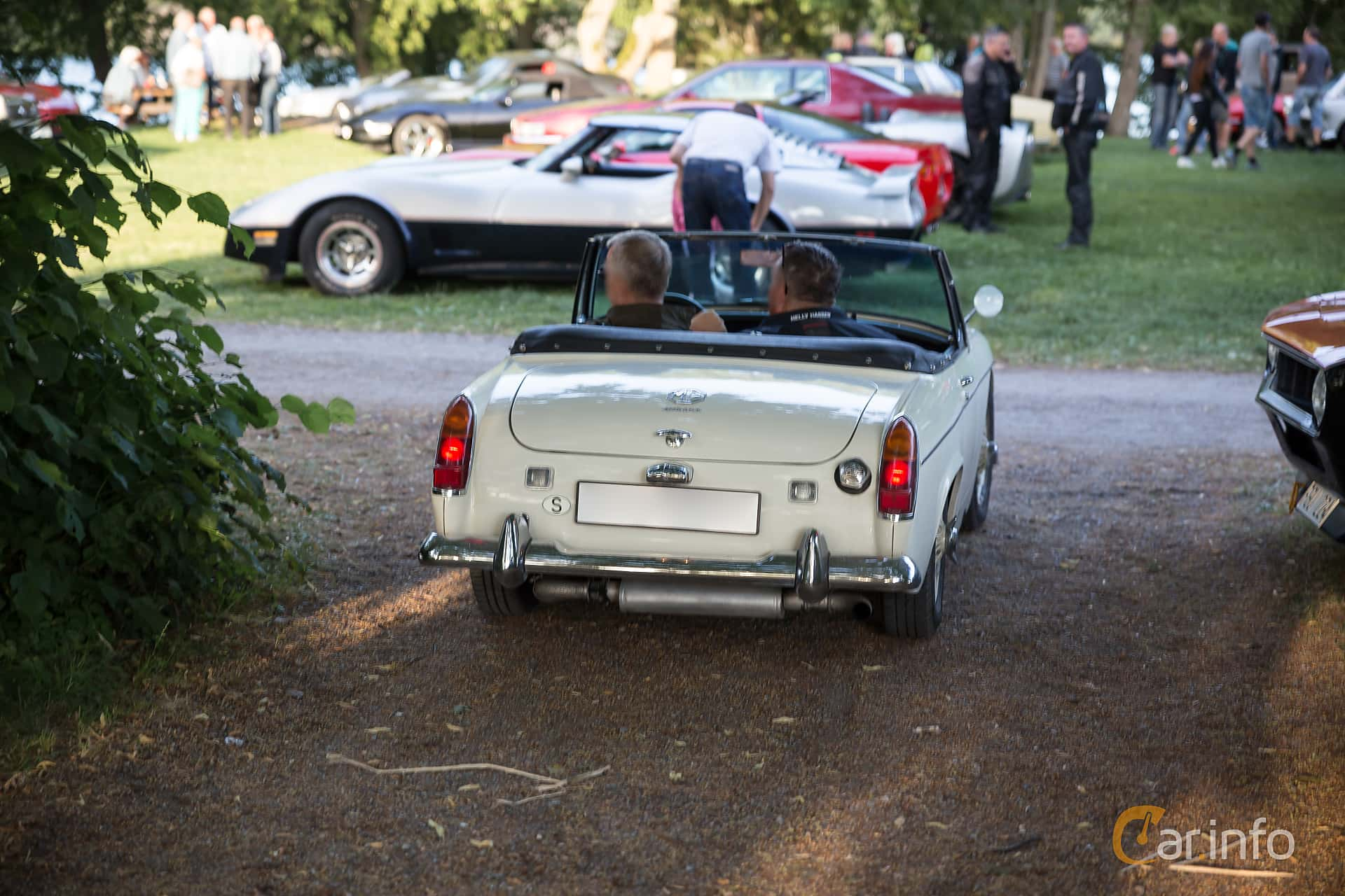 MG Midget 1.3 Manual, 65hp, 1968 at Classic cars på Sundby gård v35 2015
