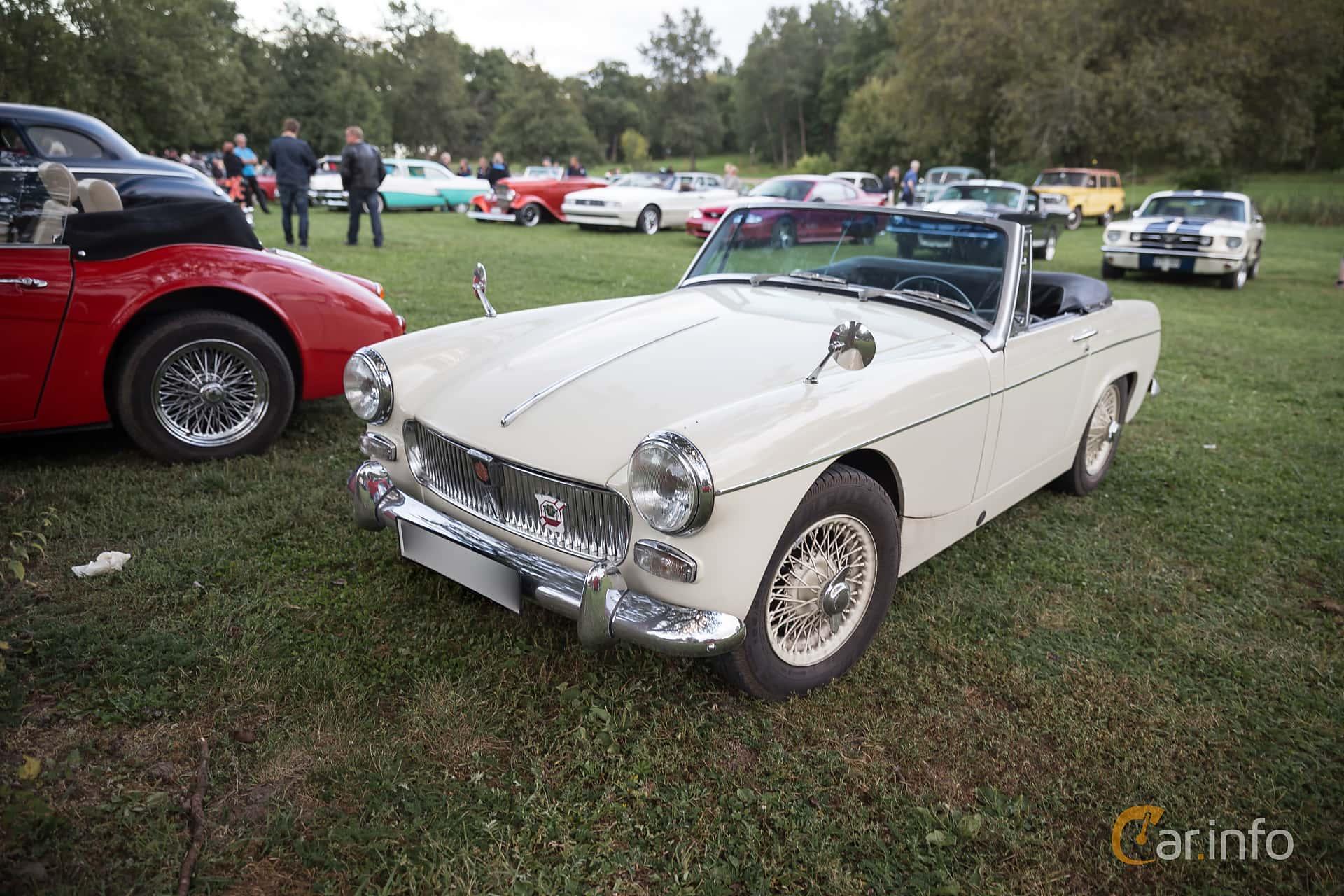 MG Midget 1.3 Manual, 65hp, 1968 at Classic cars på Sundby gård v35 2015