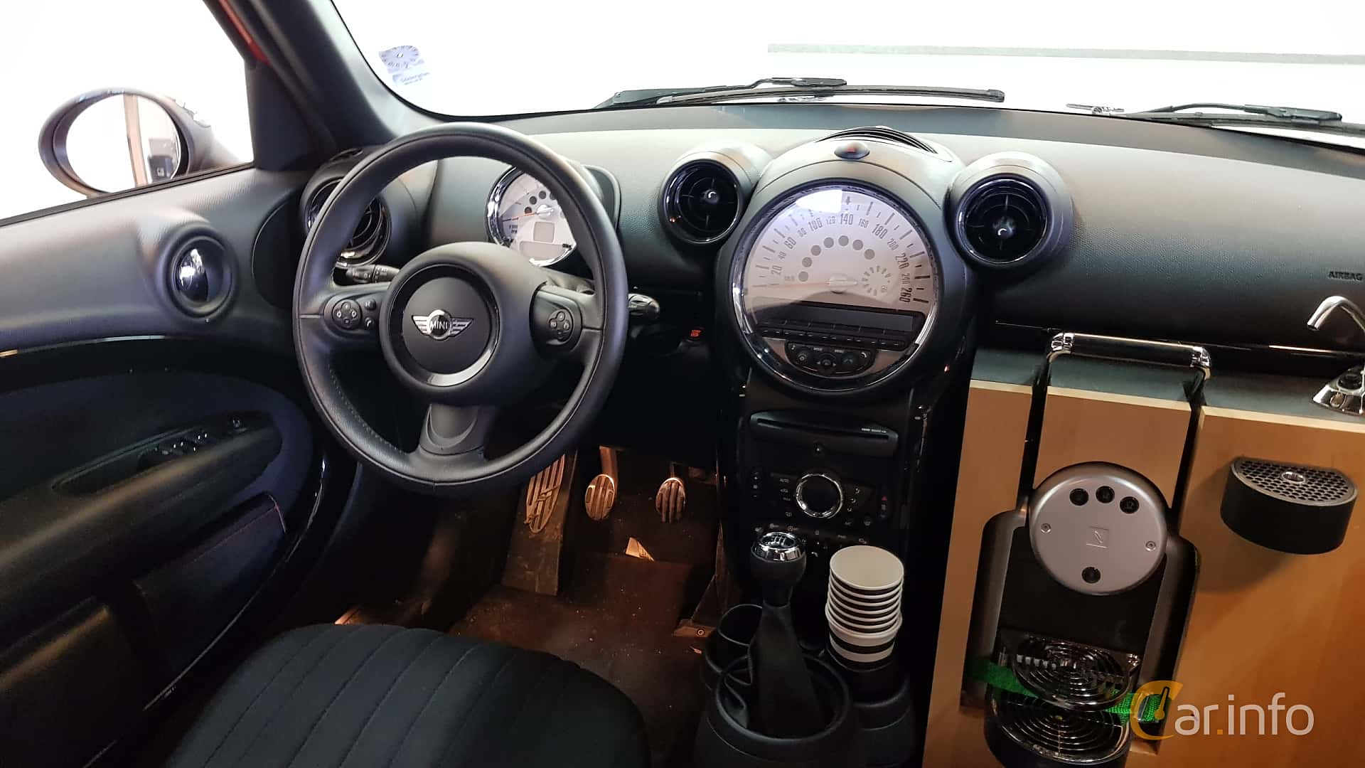 Mini Cooper S Countryman Manual 184hp 2014