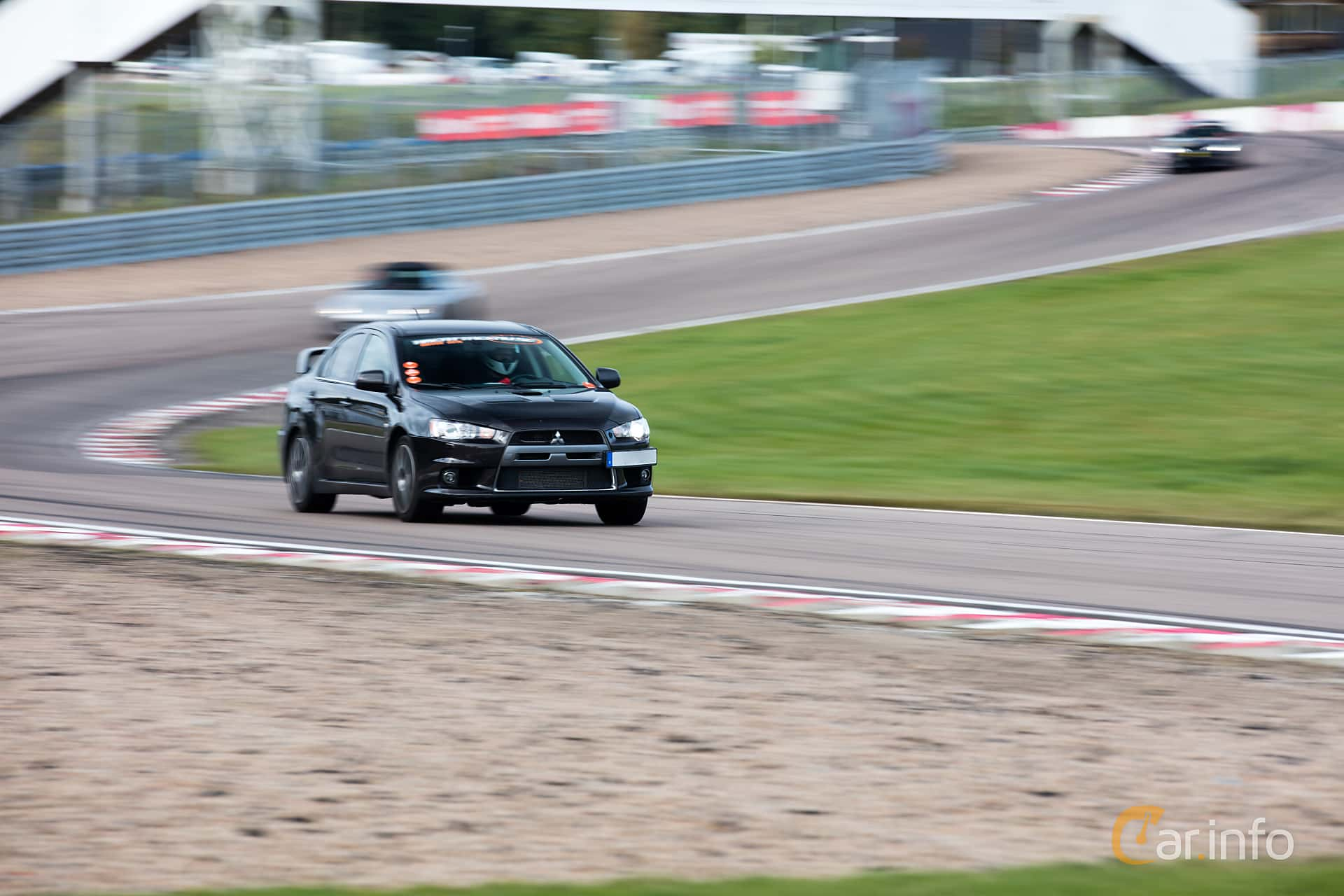 Mitsubishi Lancer Evolution 2.0 4WD DSG Sequential, 295hp, 2009 at Time Attack Knutstorp
