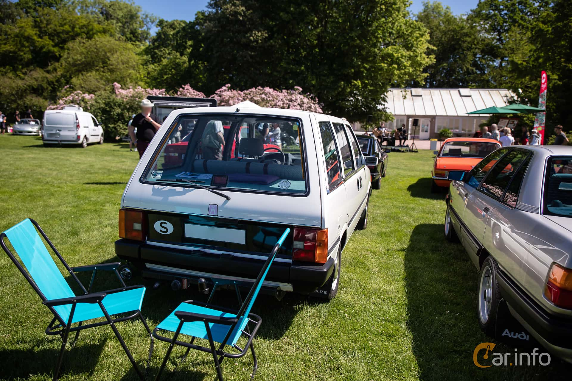 Nissan Prairie 1.5 Manual, 75hp, 1984 at Sofiero Classic 2017