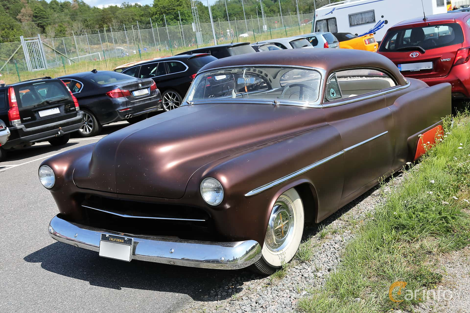 Oldsmobile Super 88 Holiday Coupé 5.0 V8 Hydra-Matic, 167hp, 1953 at A-bombers - Old Style Weekend Backamo 2019