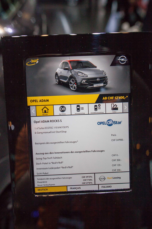 Opel Adam Rocks S 1 4 T Manual 150hp 2017