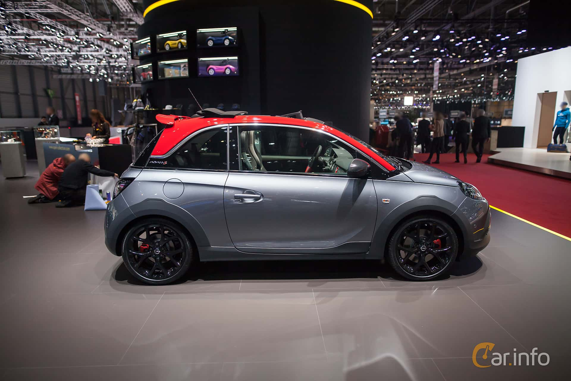 opel adam rocks s 1 4 t manual 150hp 2017 at geneva. Black Bedroom Furniture Sets. Home Design Ideas