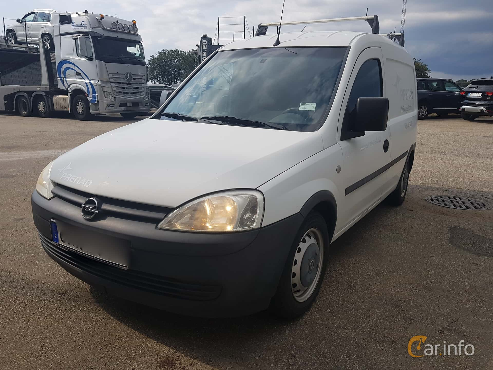 Opel Combo Van 4-door 1.6 Manual, 87hp, 2004